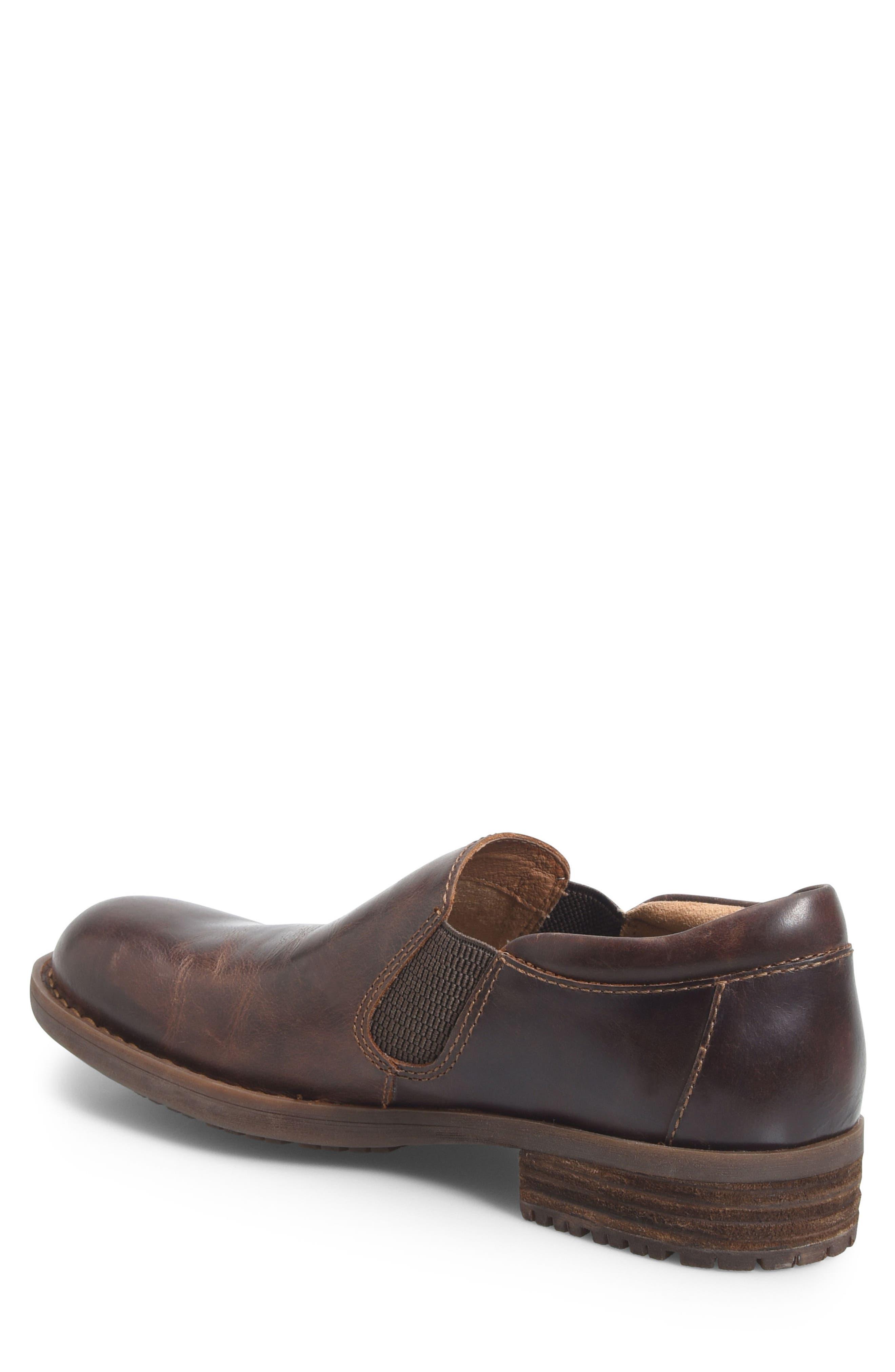 Alternate Image 2  - Børn Senn Plain Toe Slip-On (Men)