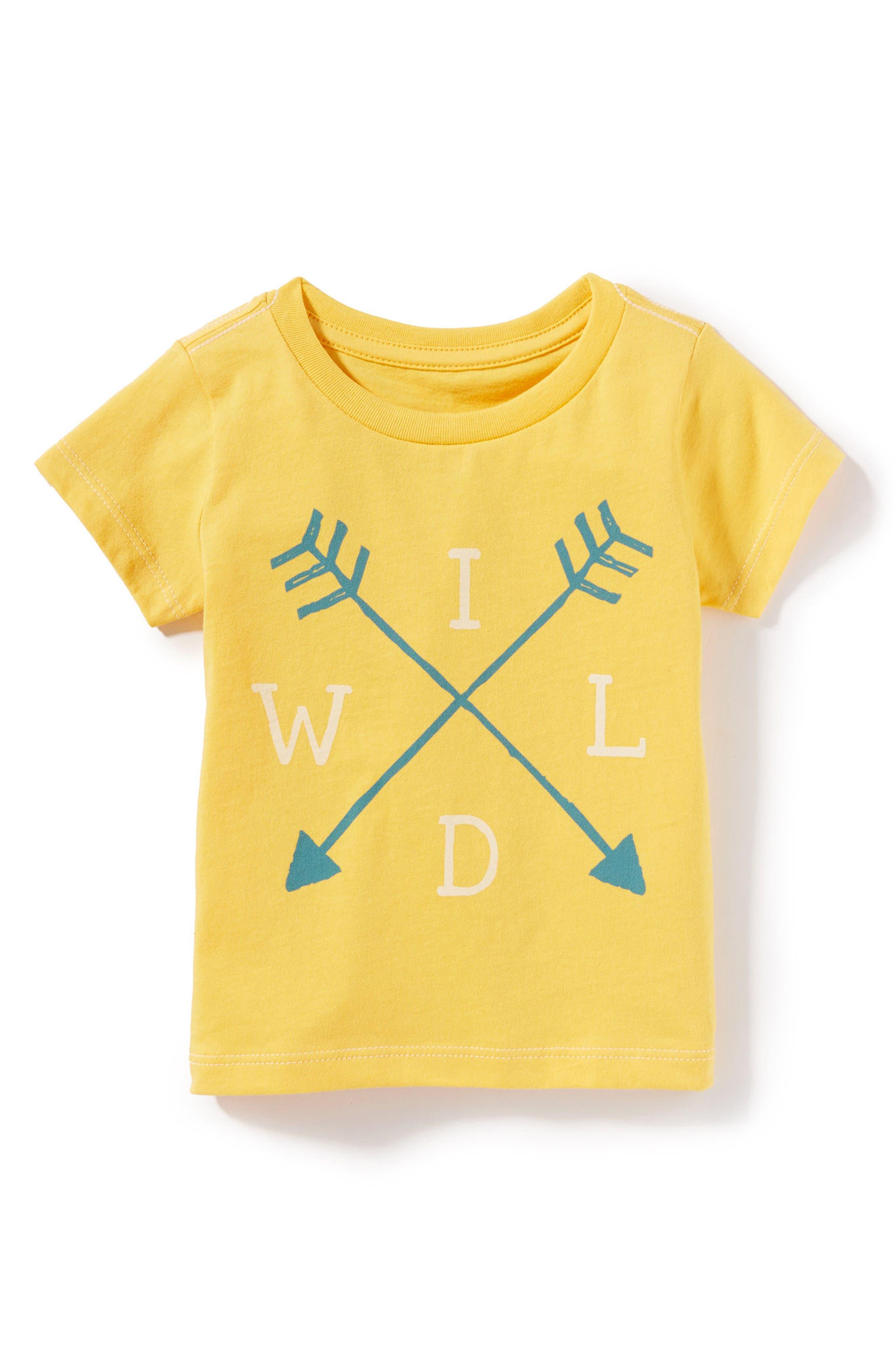 Alternate Image 1 Selected - Peek Wild Graphic T-Shirt (Baby Boys)