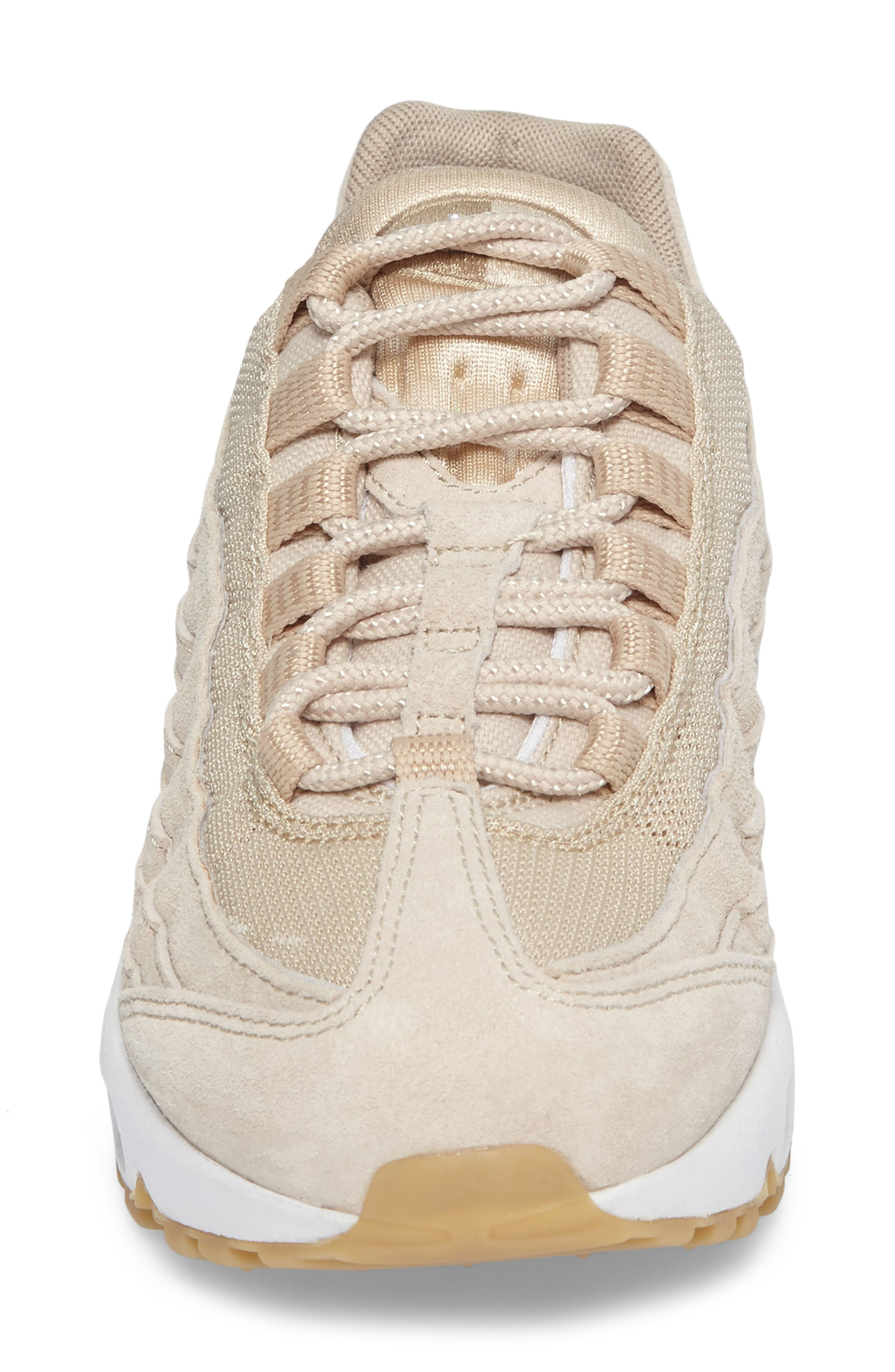 Air Max 95 SD Sneaker,                             Alternate thumbnail 4, color,                             Oatmeal/ White