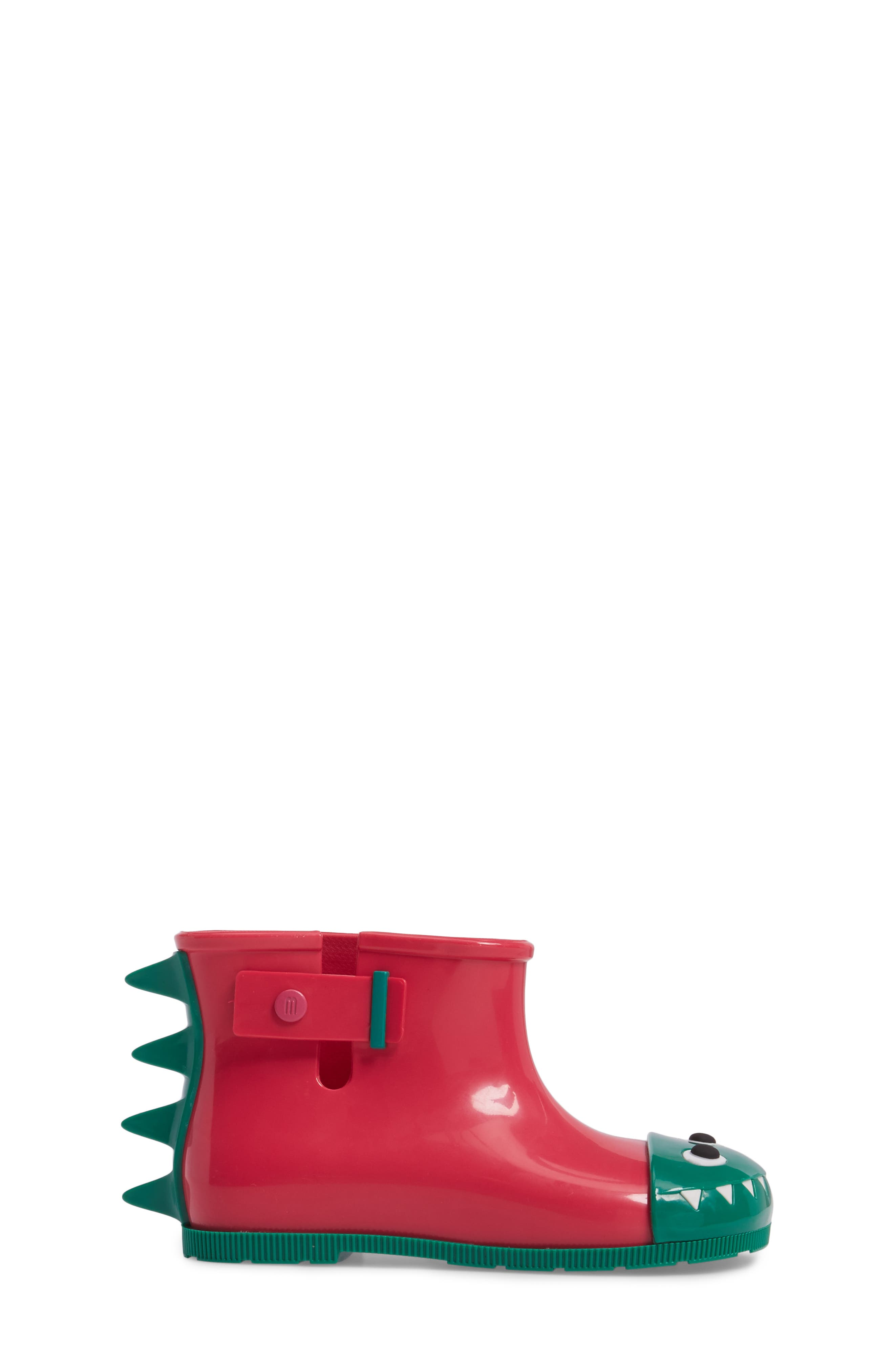 Mini Melissa Sugar Rain Fabula Bootie,                             Alternate thumbnail 3, color,                             Pink