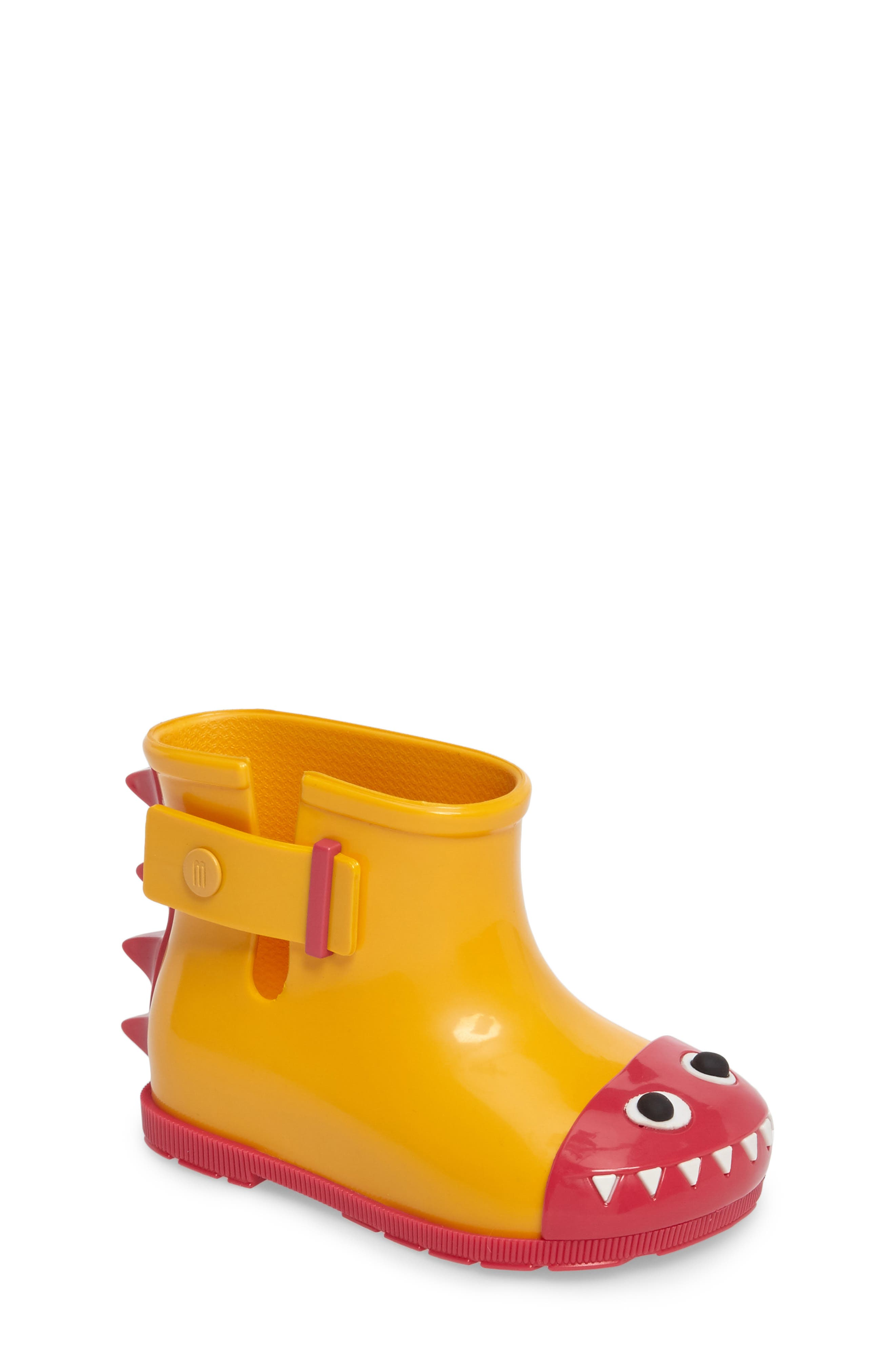 Mini Melissa Sugar Rain Fabula Bootie (Walker & Toddler)