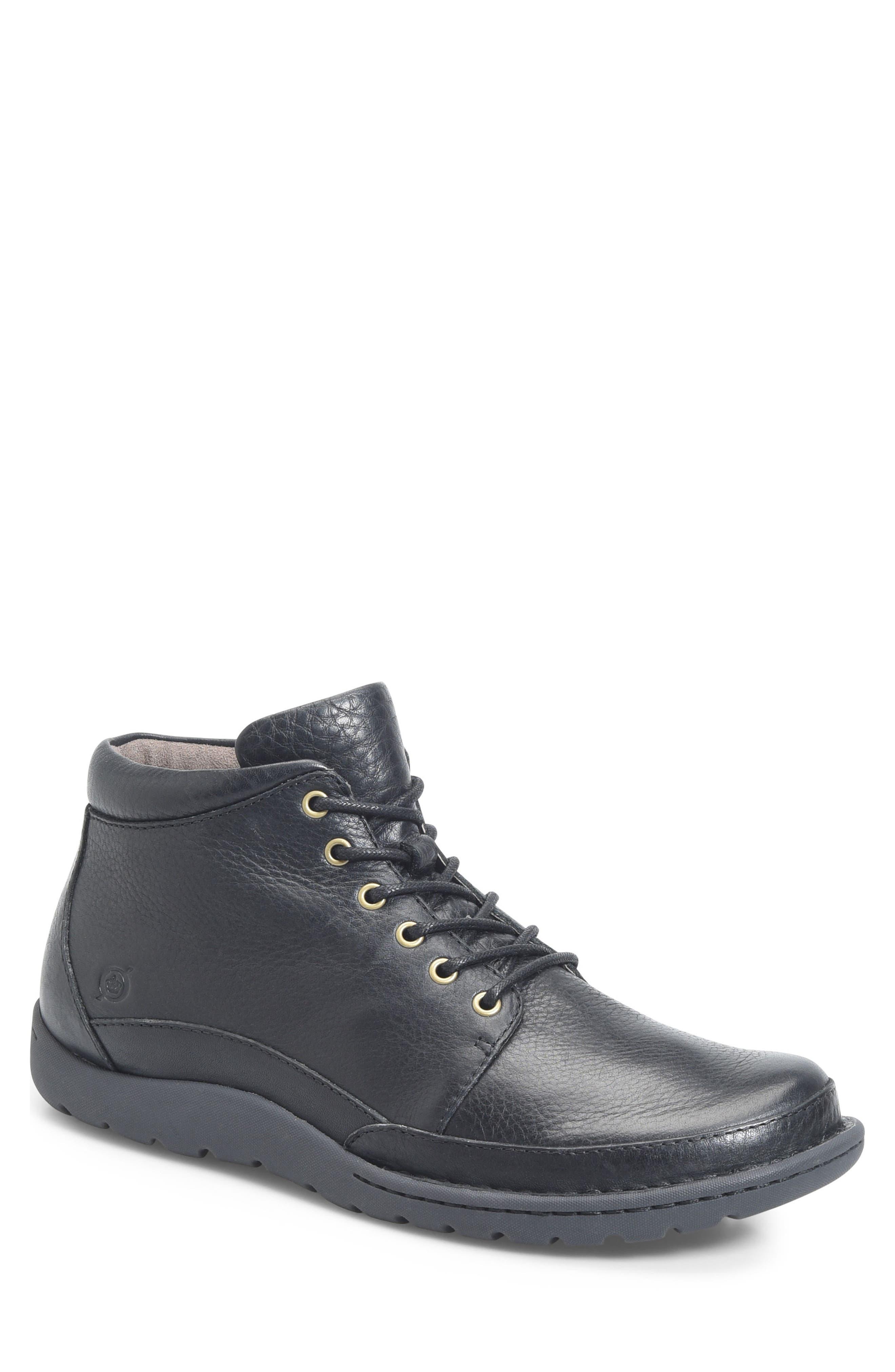 Nigel Low Boot,                             Main thumbnail 1, color,                             Black
