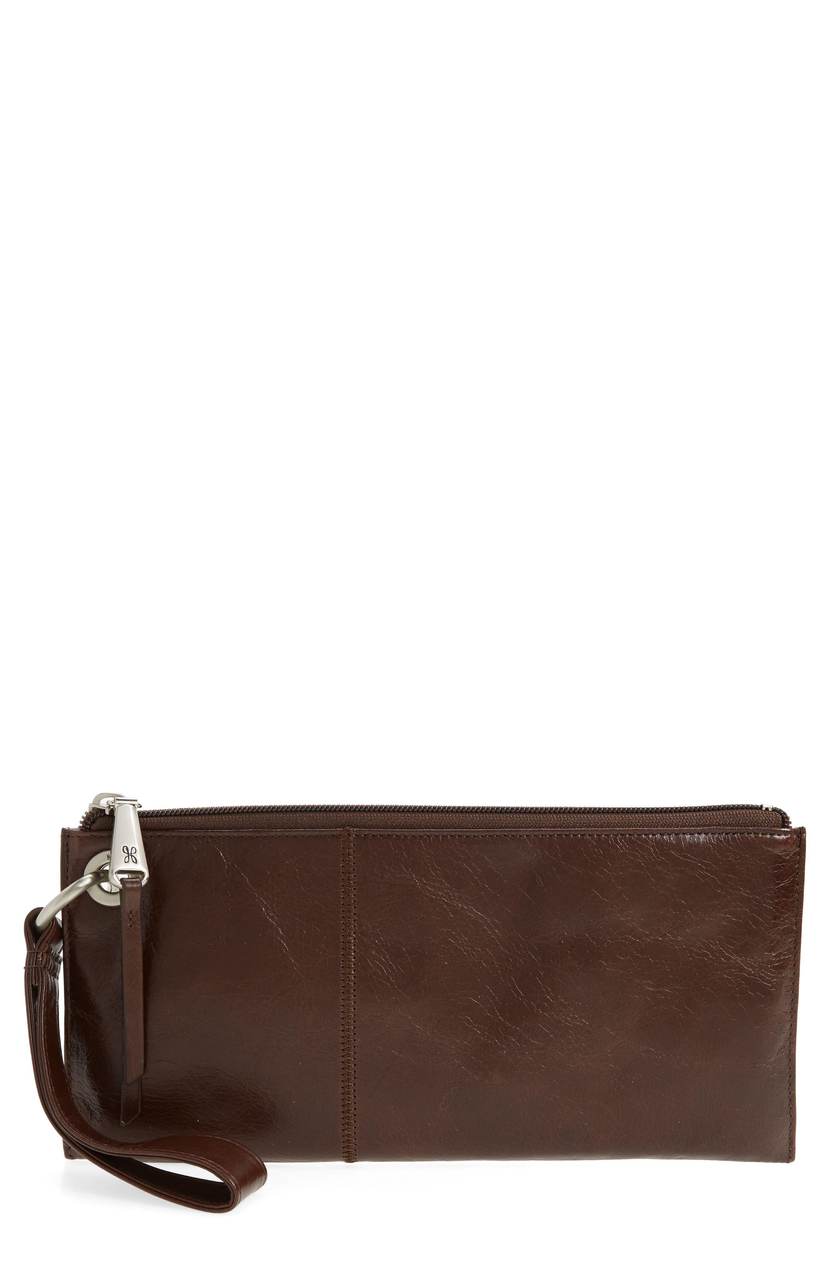 Hobo 'Vida' Leather Clutch