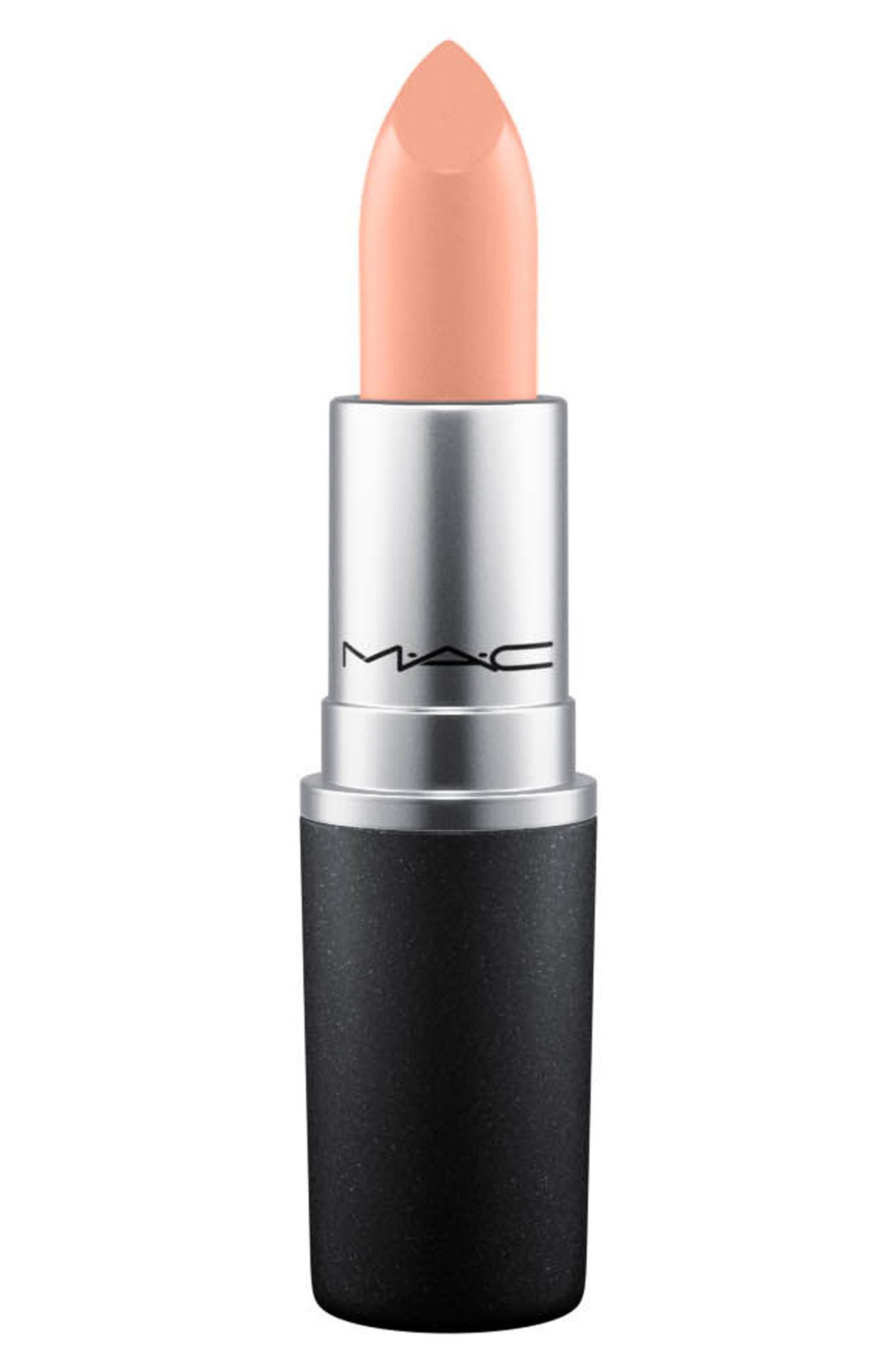 MAC Nudes Lipstick,                             Main thumbnail 1, color,                             The Right Note