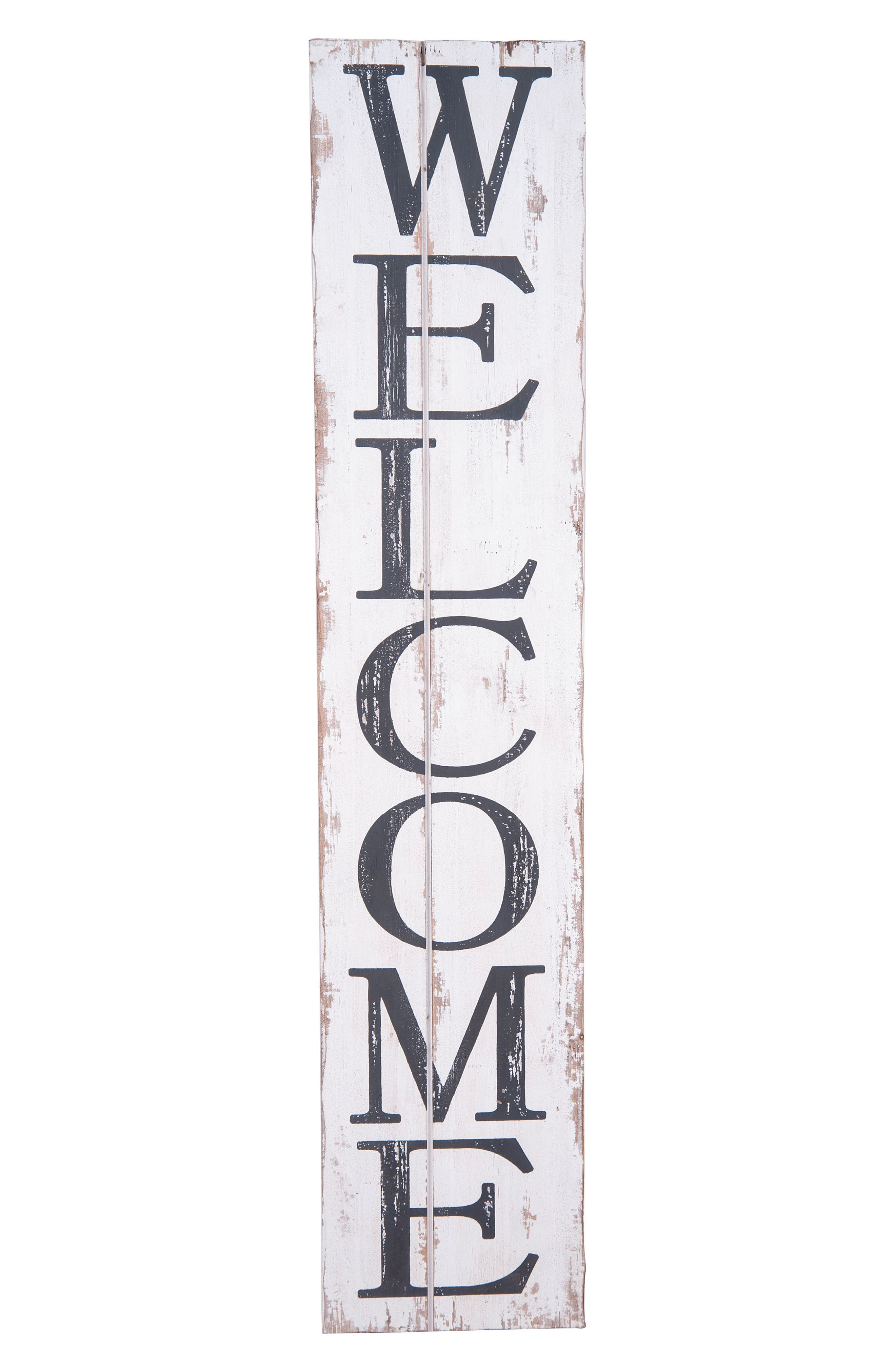 Alternate Image 1 Selected - Foreside Welcome Wood Wall Art