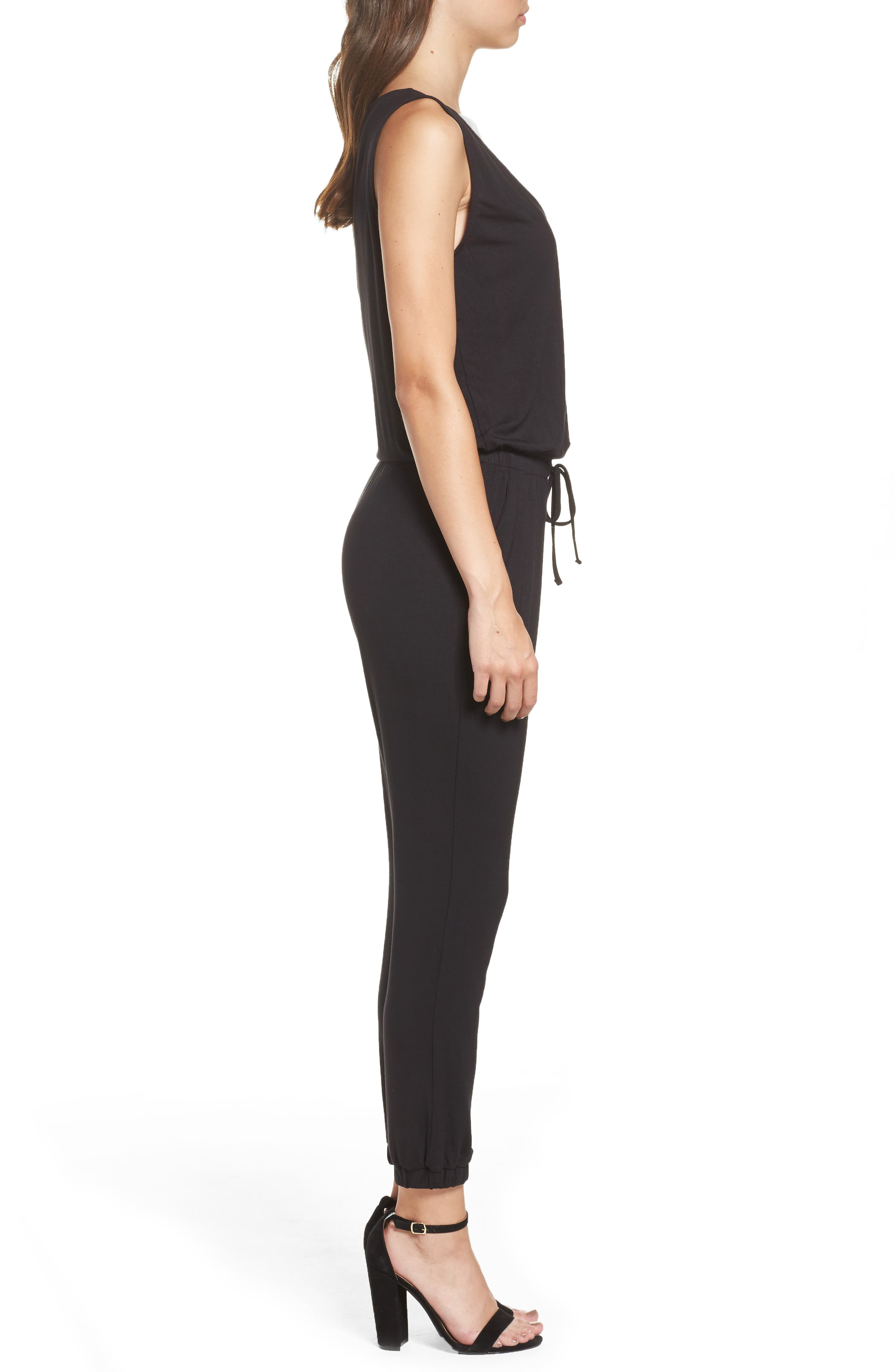 Alternate Image 3  - BB Dakota 'Milligan' Sleeveless Jumpsuit
