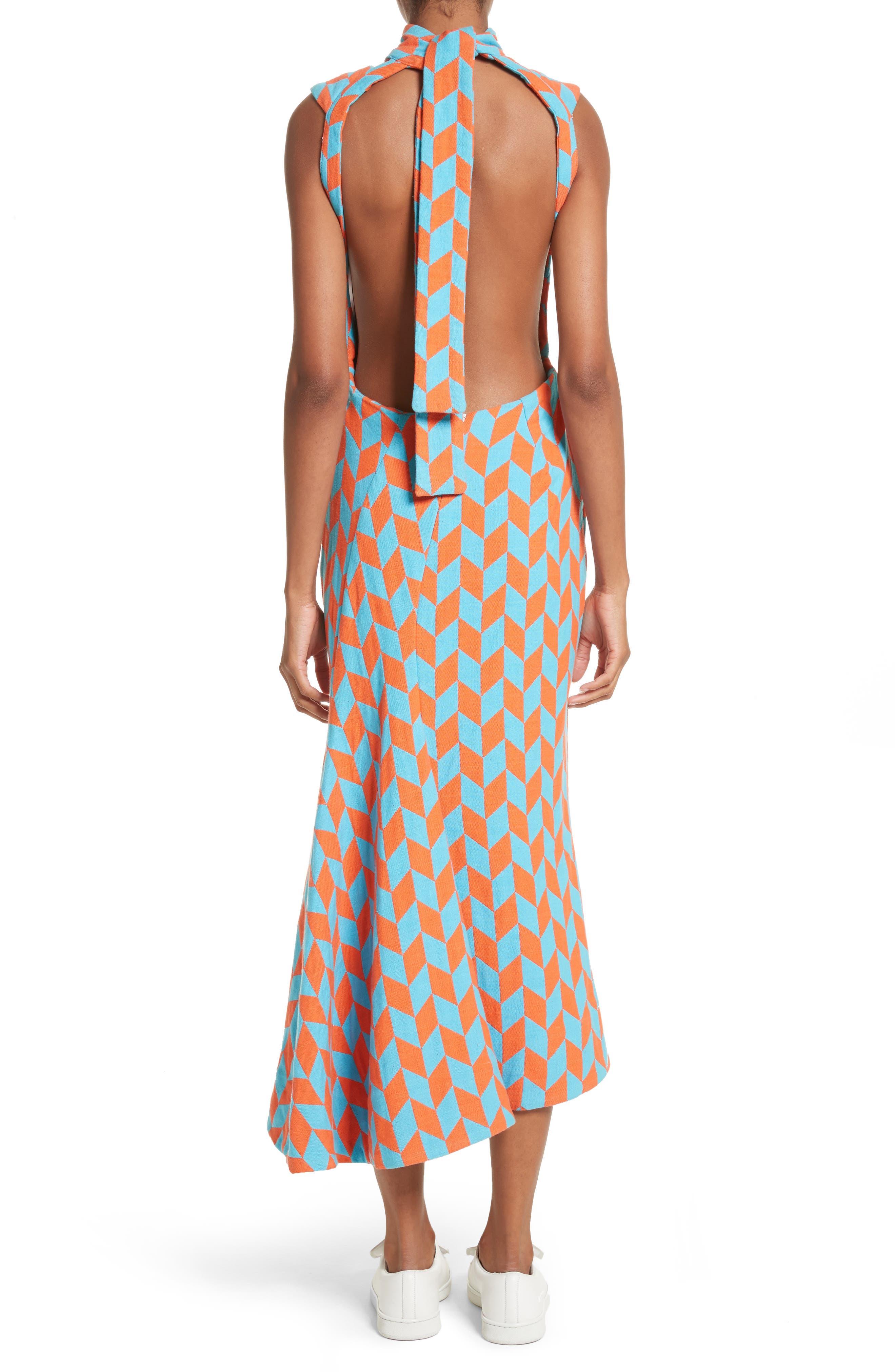 Alternate Image 2  - Richard Malone Backless Twist Seam Dress