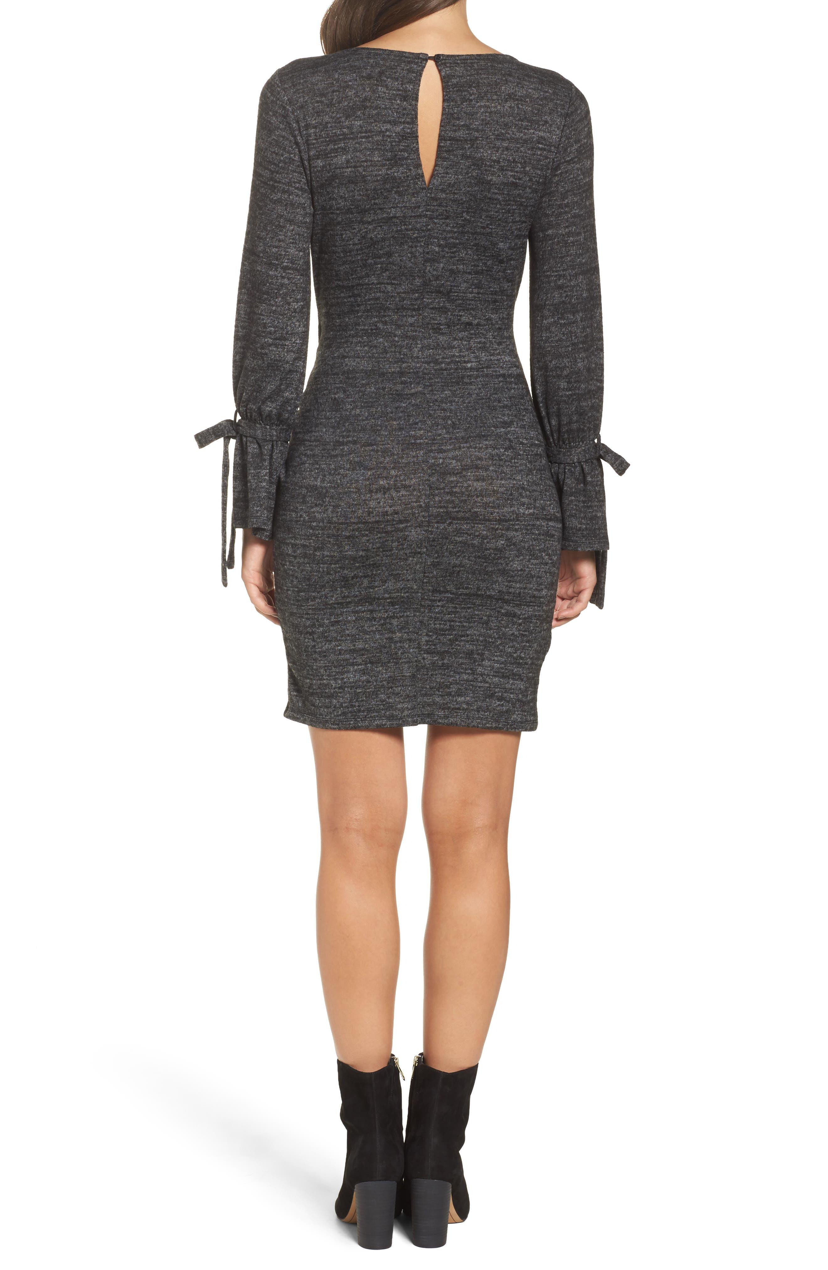 Alternate Image 2  - 19 Cooper Body-Con Dress