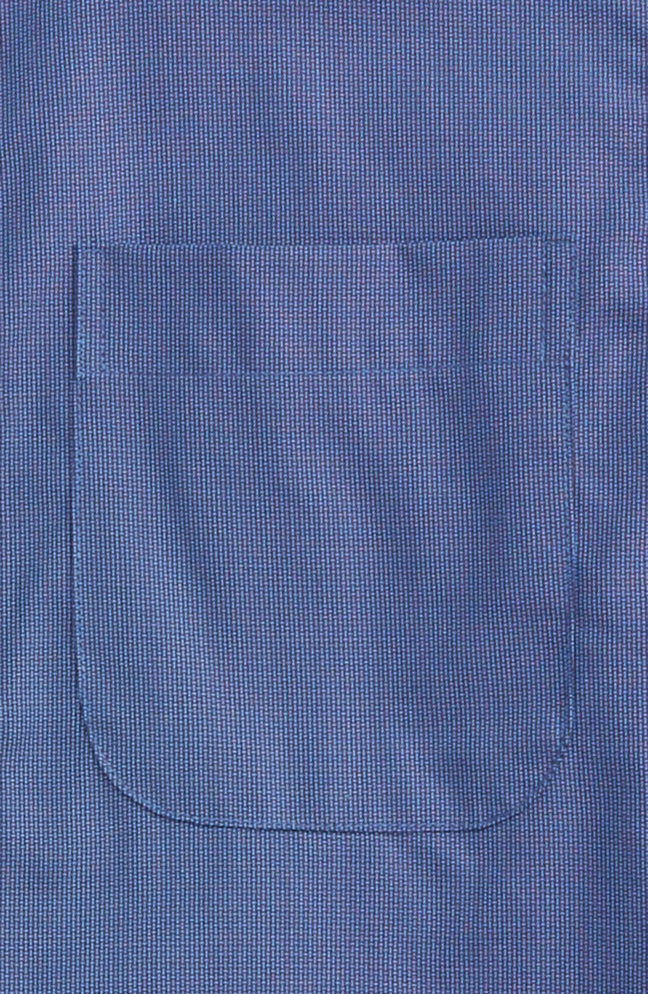 Patriot Cotton Poplin Dress Shirt,                             Alternate thumbnail 2, color,                             Navy Patriot