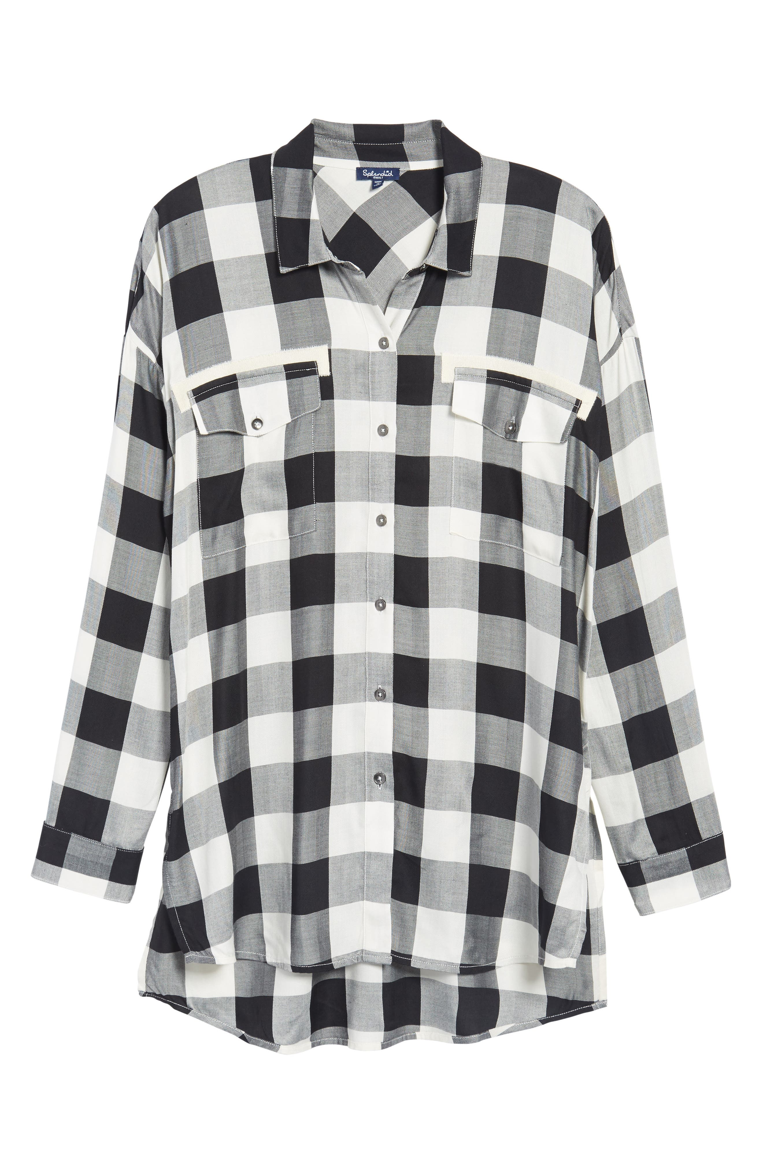 Alternate Image 6  - Splendid Buffalo Check Shirt