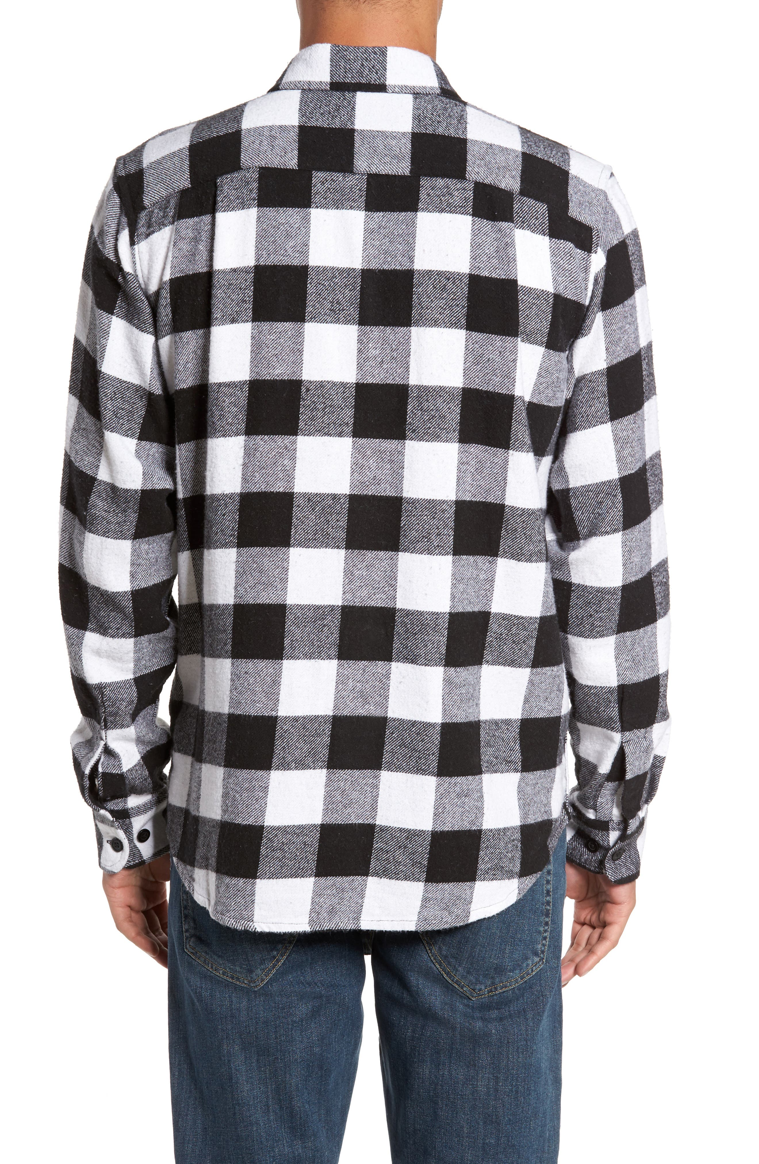 Alternate Image 2  - Obey Trent Check Woven Shirt