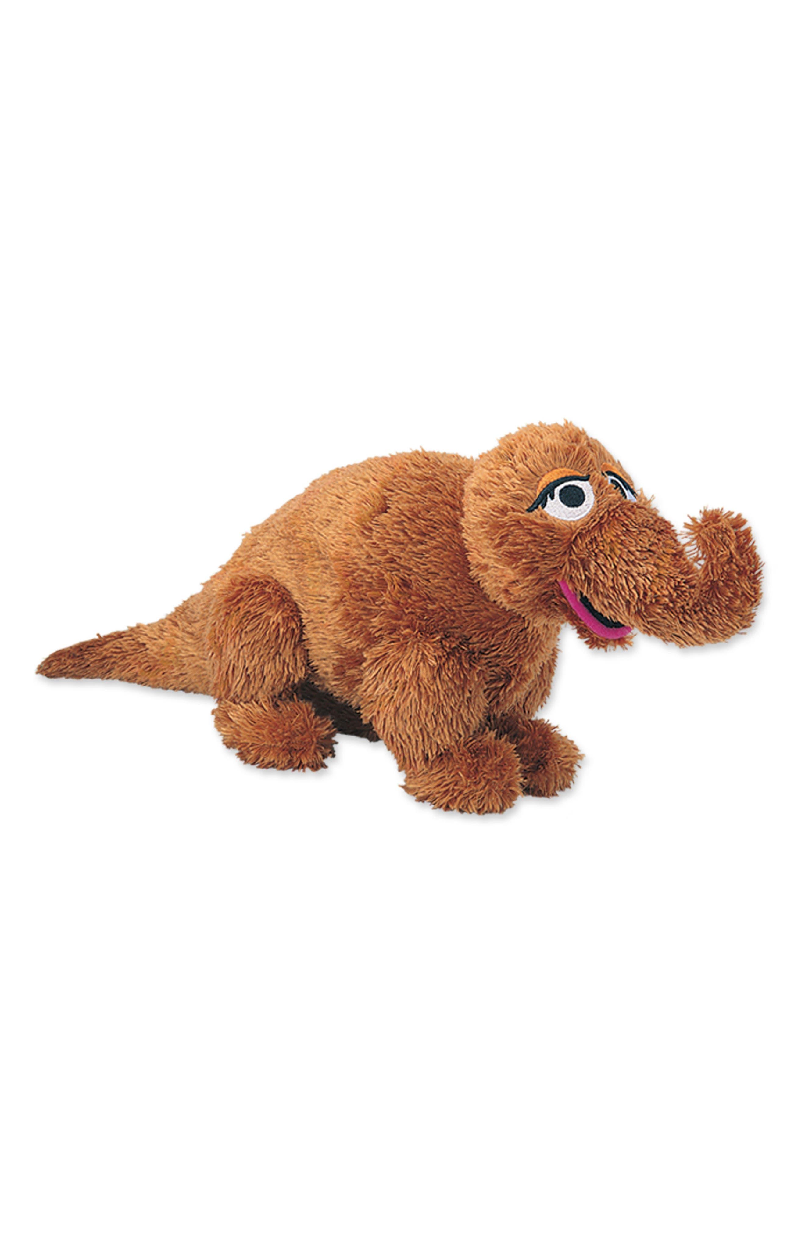 'Snuffleupagus' Stuffed Toy,                         Main,                         color, Brown