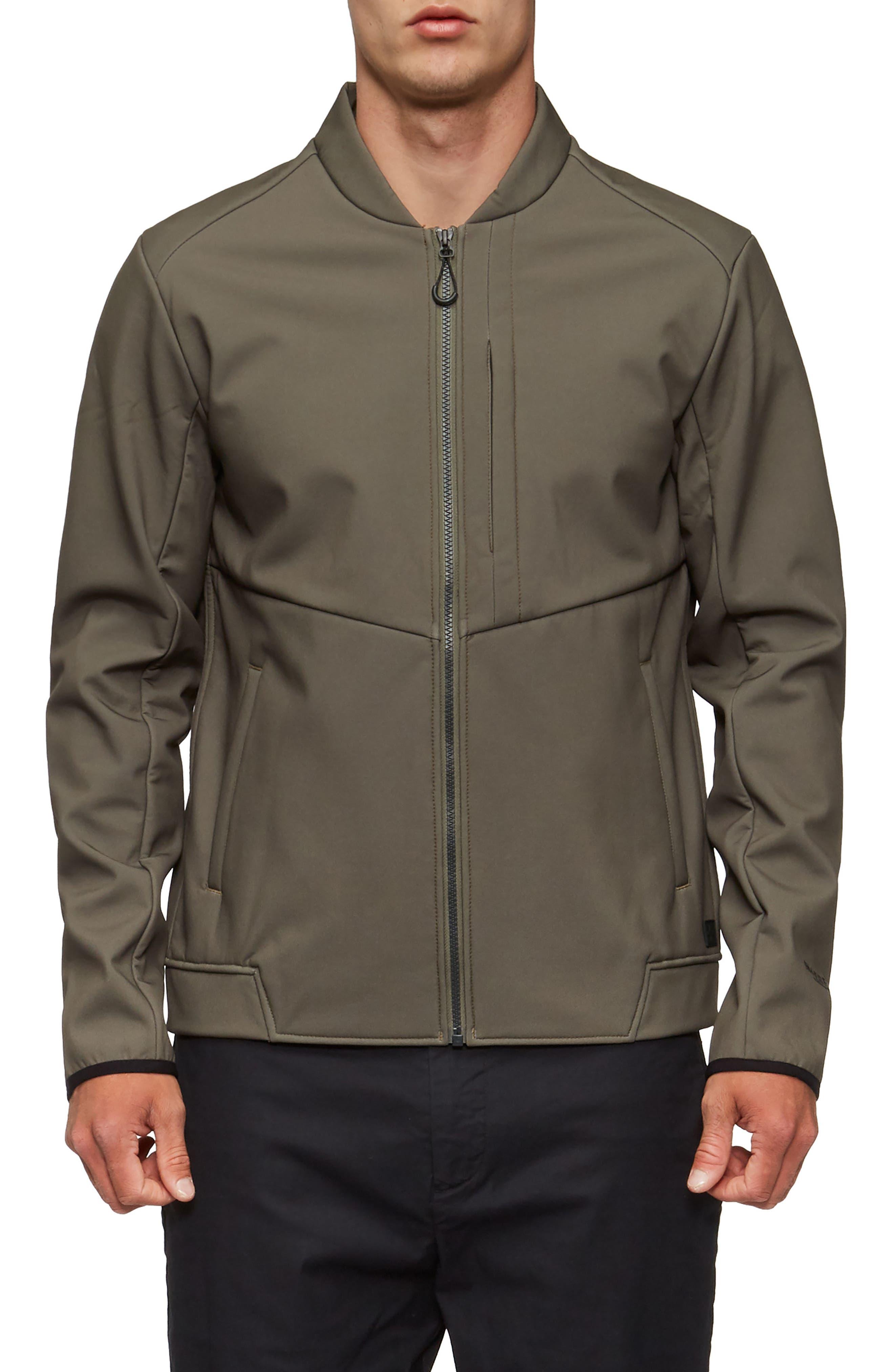 Decoy Fleece Jacket,                         Main,                         color, Olive