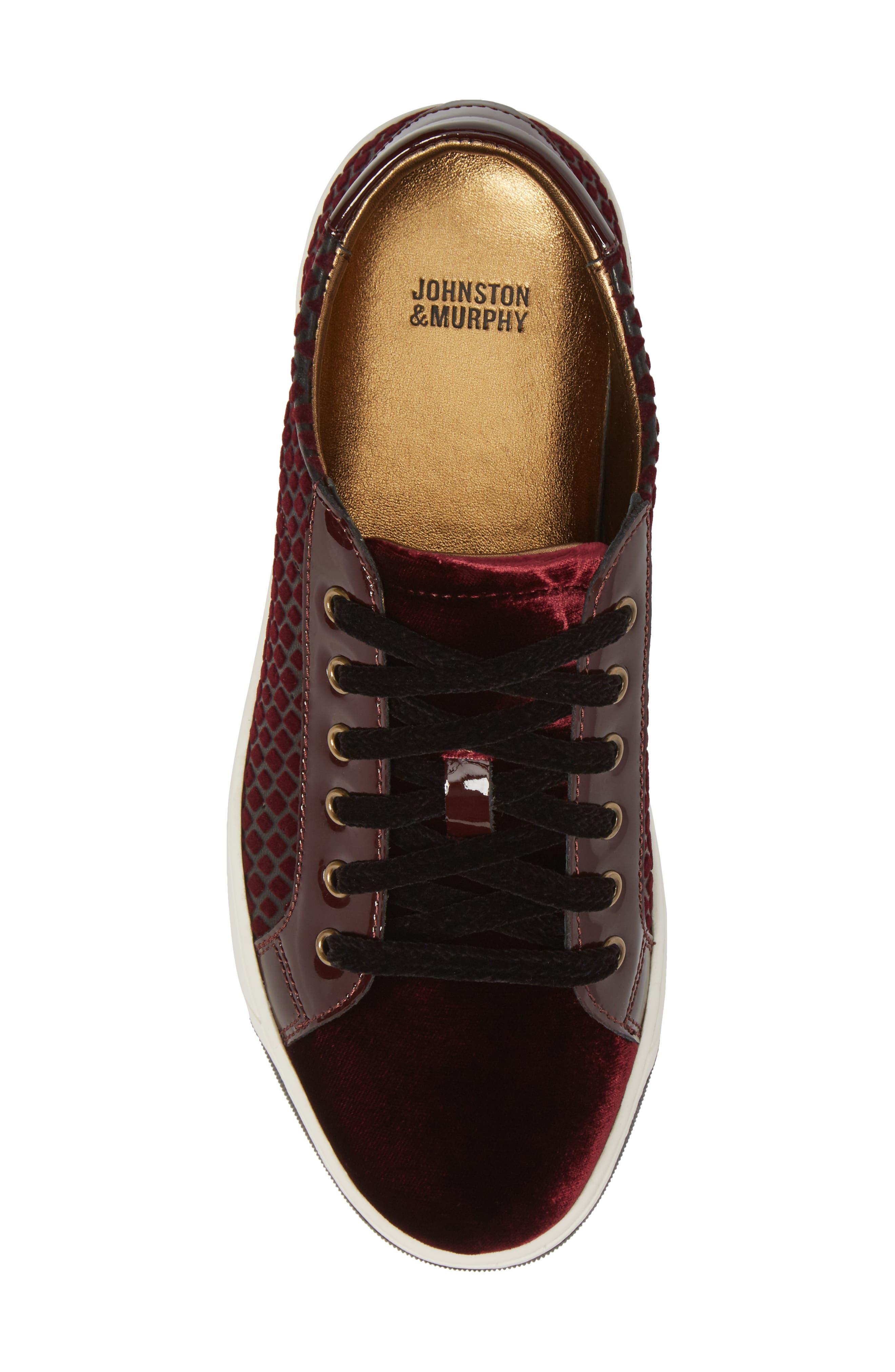 Alternate Image 5  - Johnston & Murphy 'Emerson' Sneaker (Women)