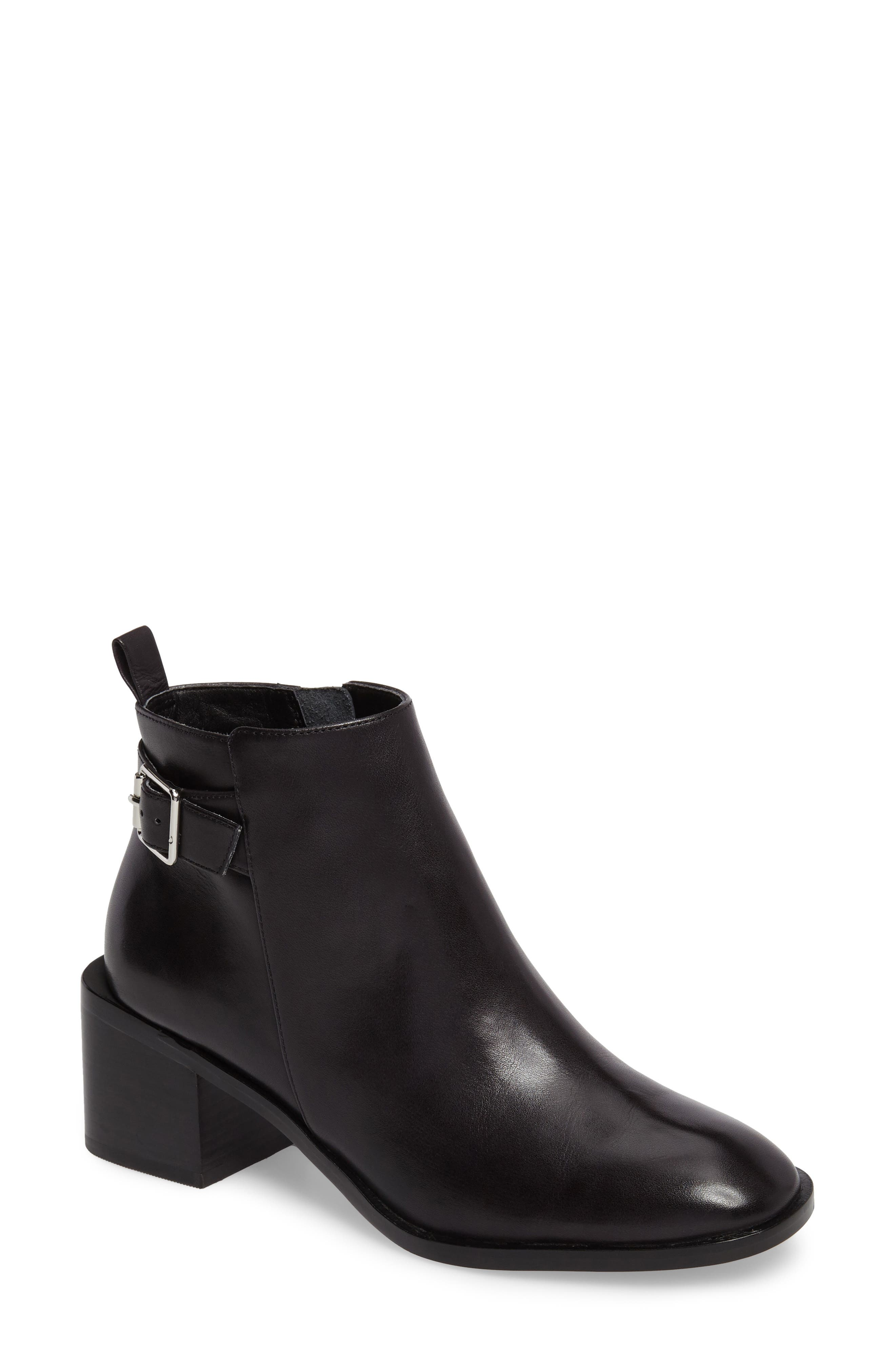 Alternate Image 1 Selected - Linea Paolo Paige Block Heel Boot (Women)