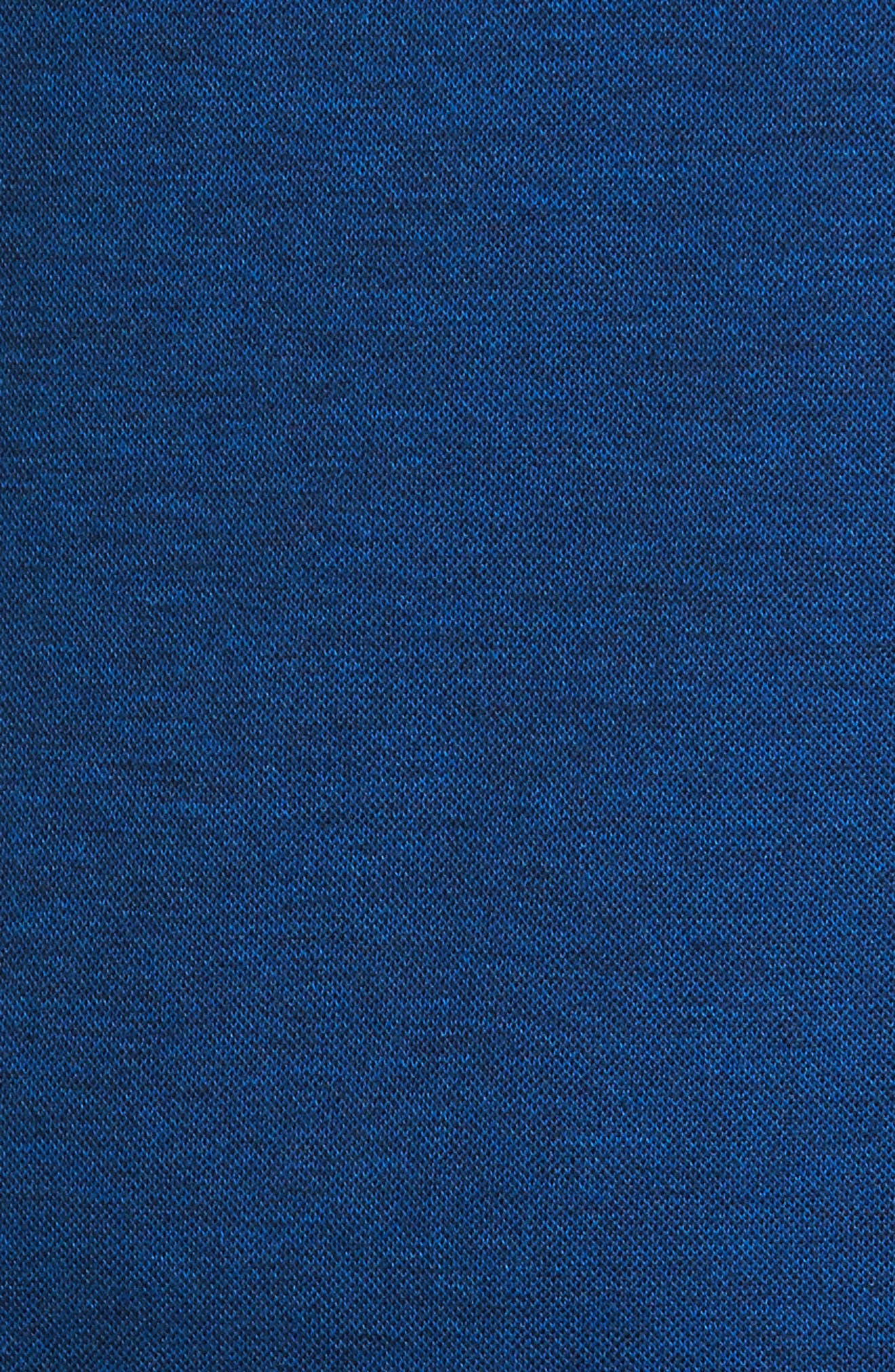 Classic Fit Piqué Polo,                             Alternate thumbnail 5, color,                             Night Blue