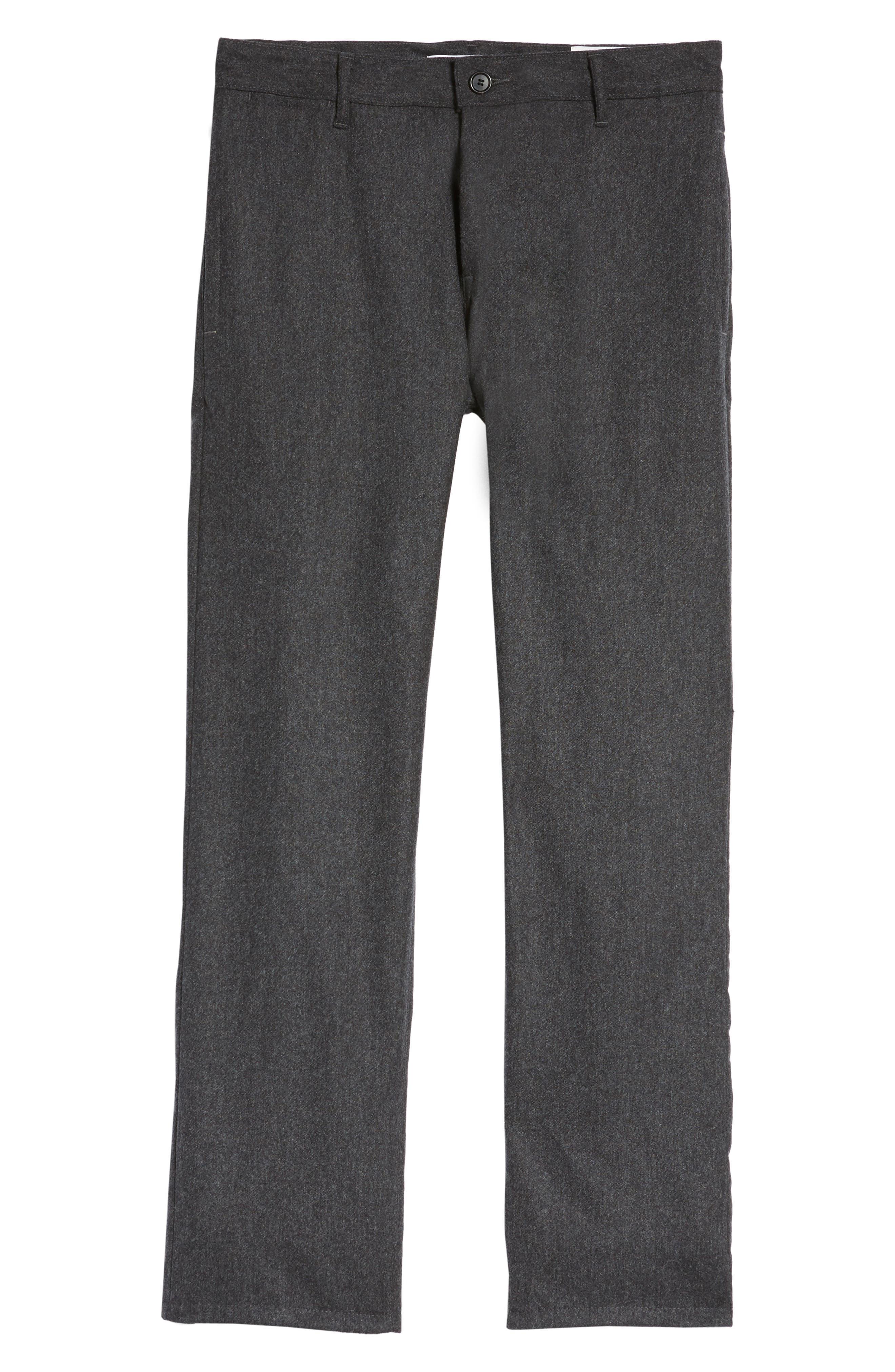 Tellis Slim Fit Five-Pocket Pants,                             Alternate thumbnail 6, color,                             Dark Ridge