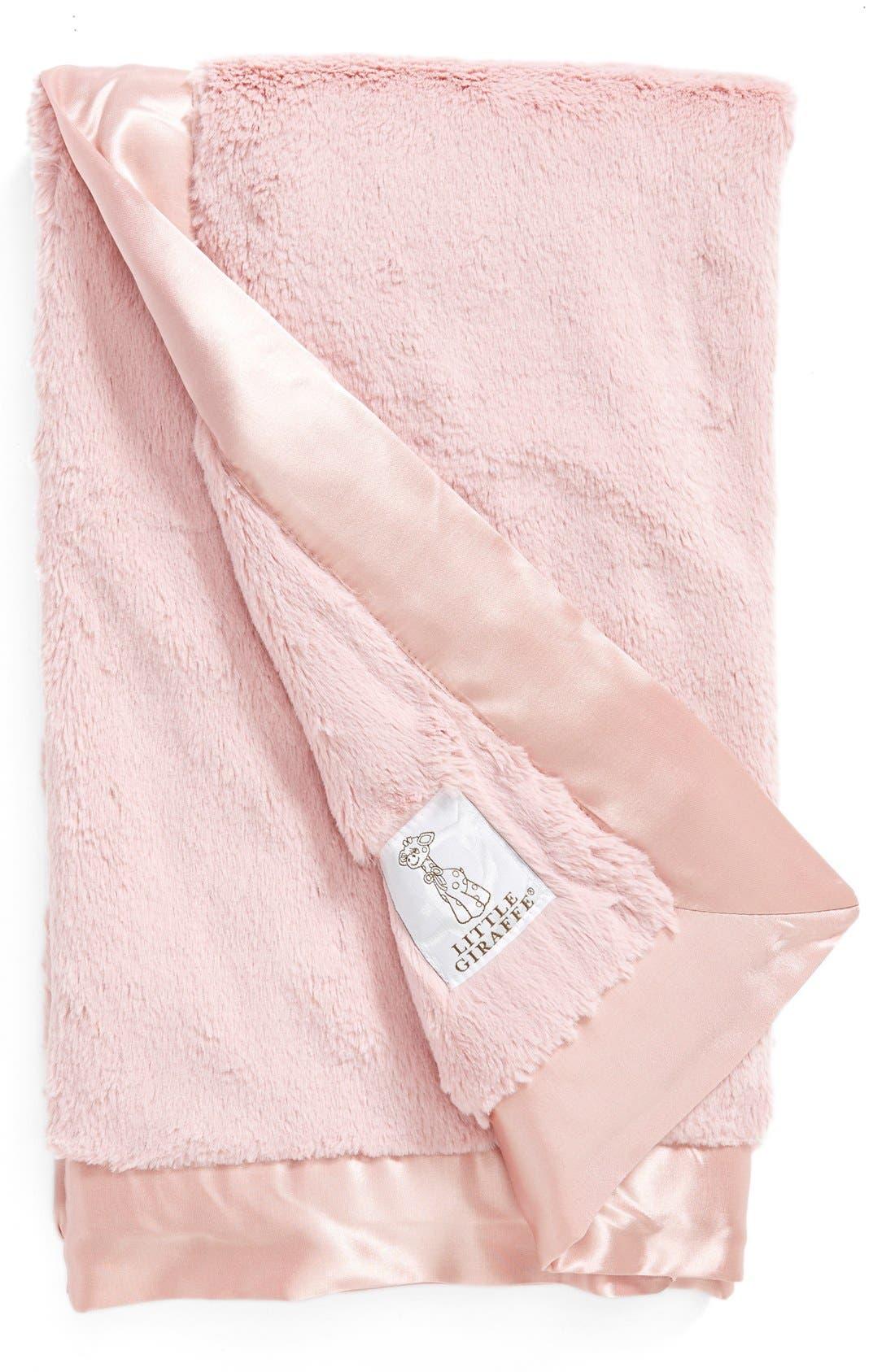 Alternate Image 1 Selected - Little Giraffe 'Luxe' Baby Blanket
