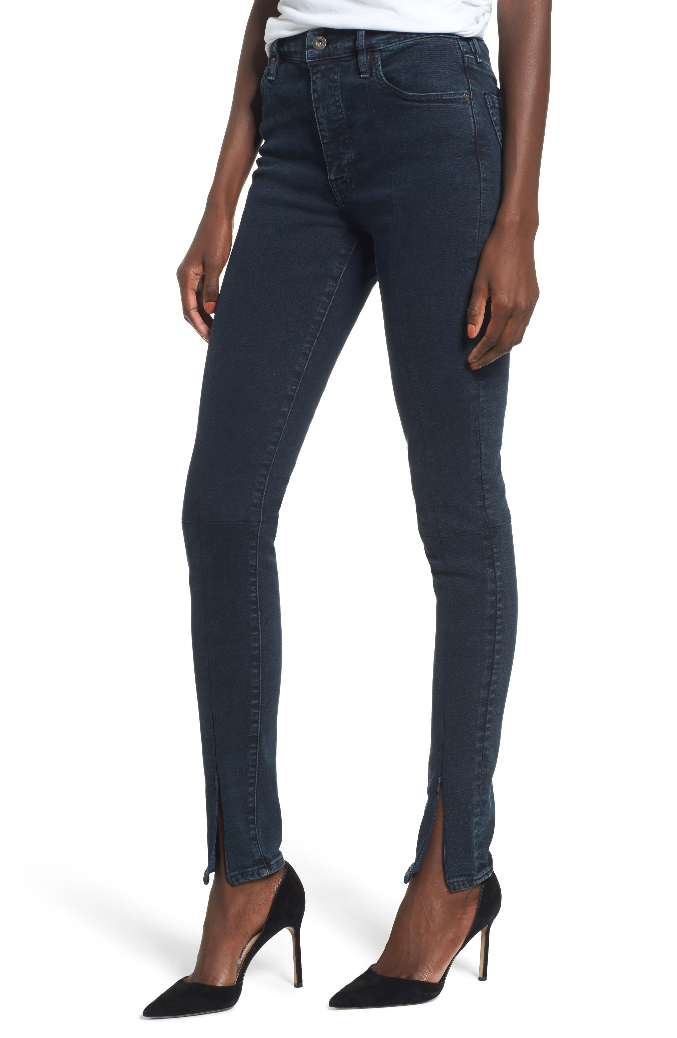Levi's® Made & Crafted™ Spliced Sliver High Waist Skinny Jeans