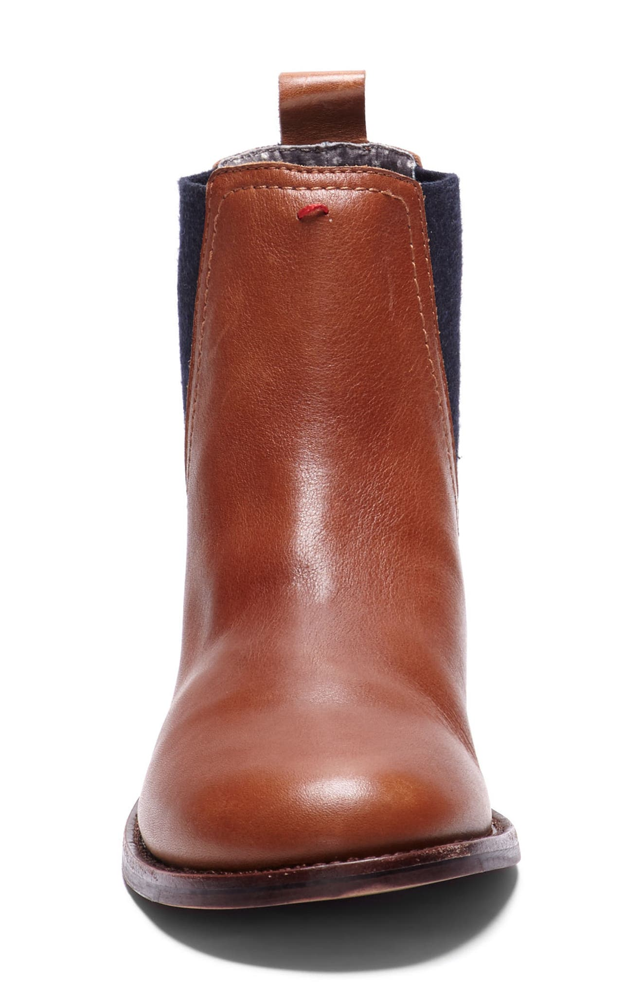 Zabi Chelsea Boot,                             Alternate thumbnail 3, color,                             Yam Leather