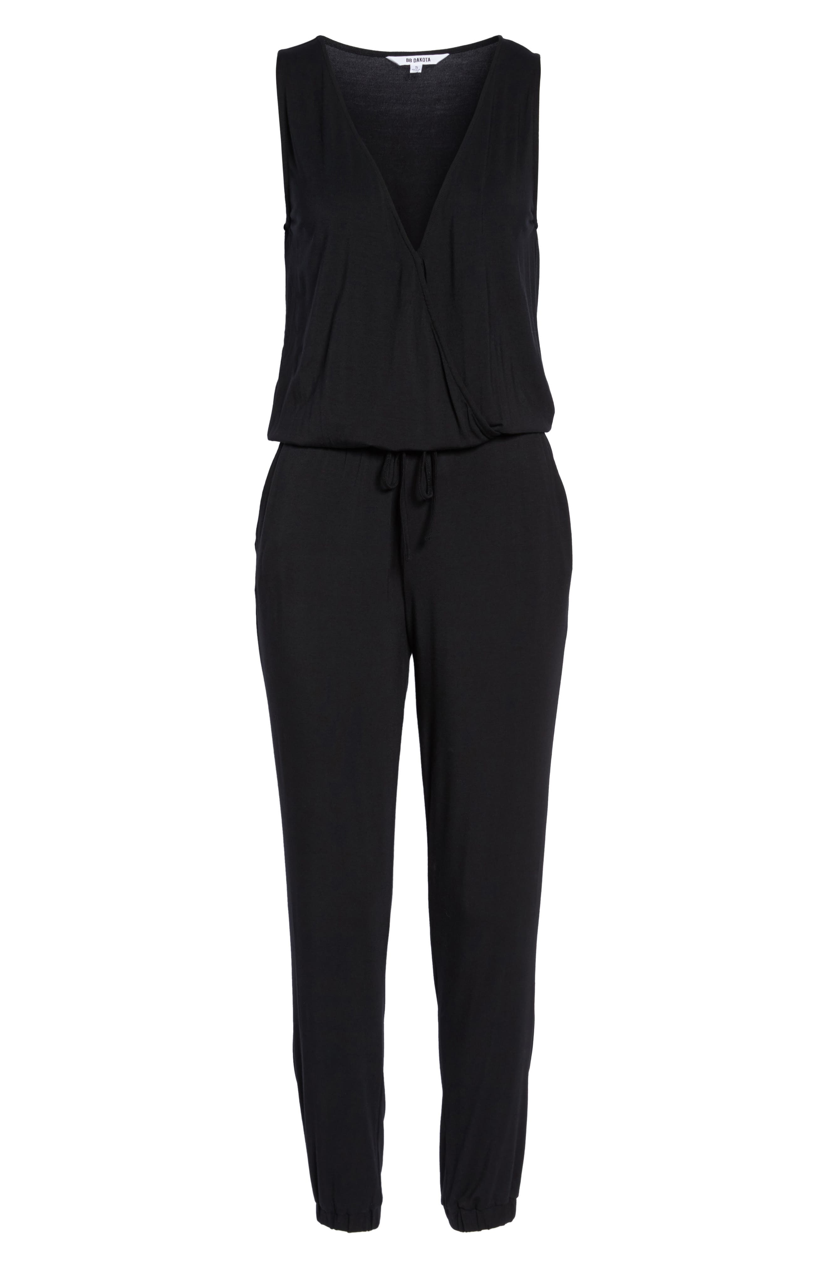 Alternate Image 6  - BB Dakota 'Milligan' Sleeveless Jumpsuit