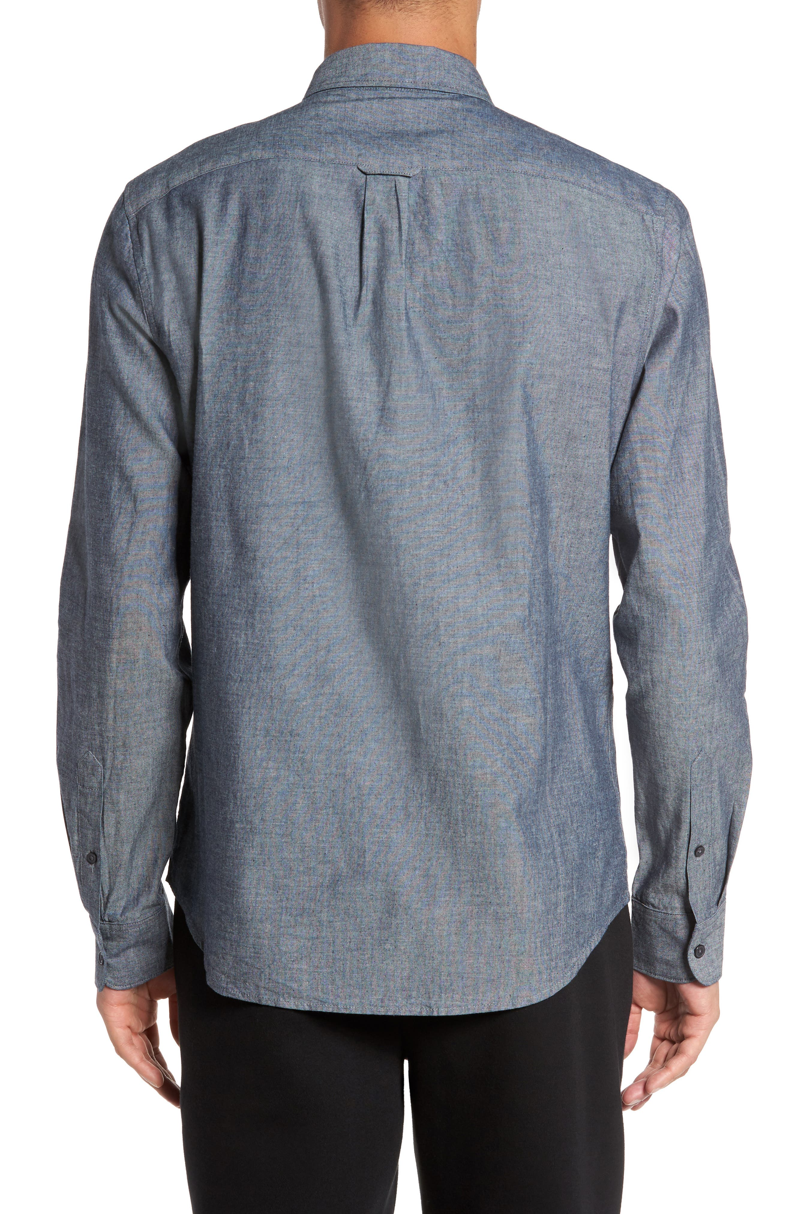 Alternate Image 2  - Everlane The Slim Fit Chambray Shirt