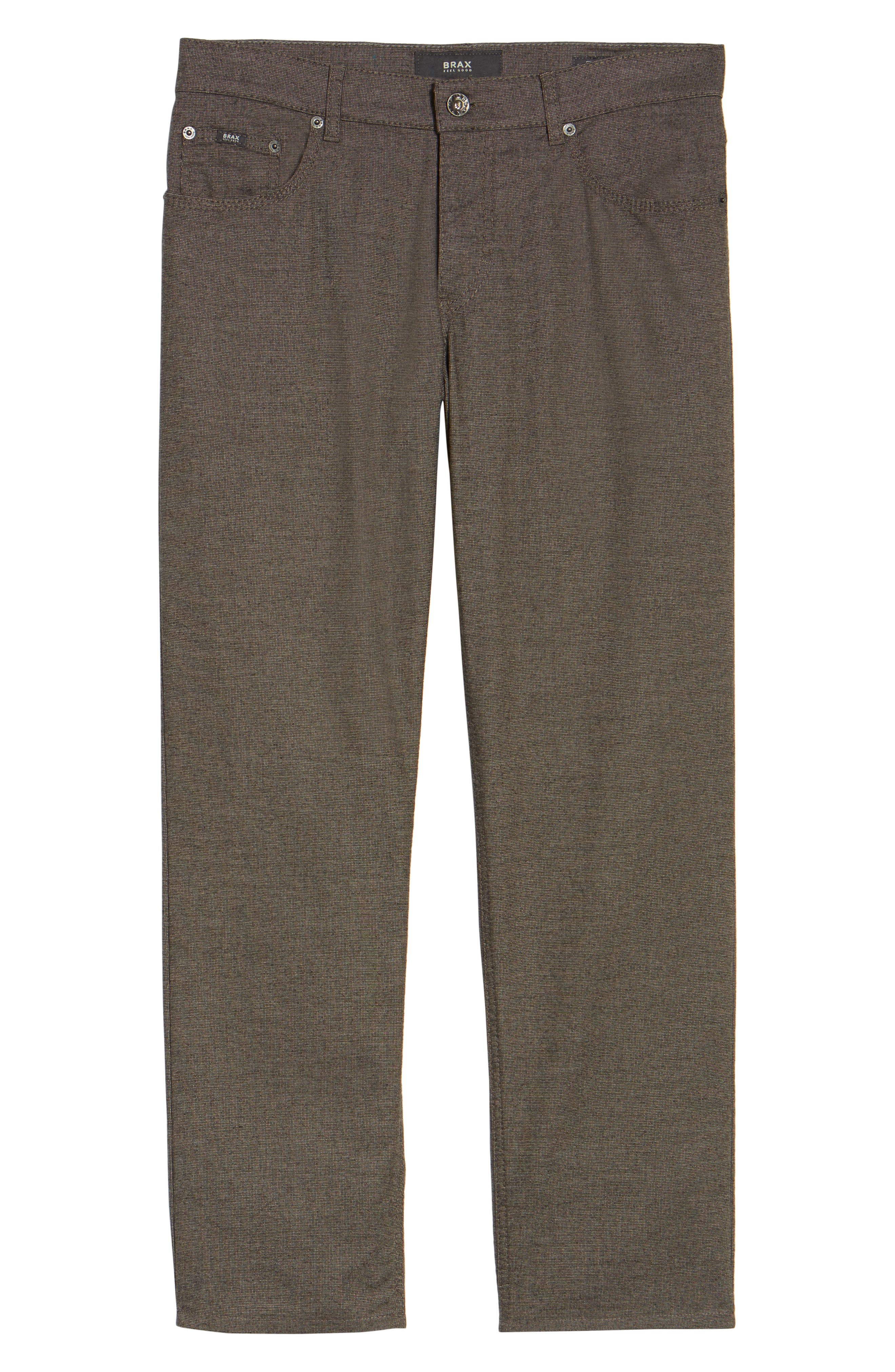 Alternate Image 6  - Brax Five-Pocket Stretch Cotton Trousers