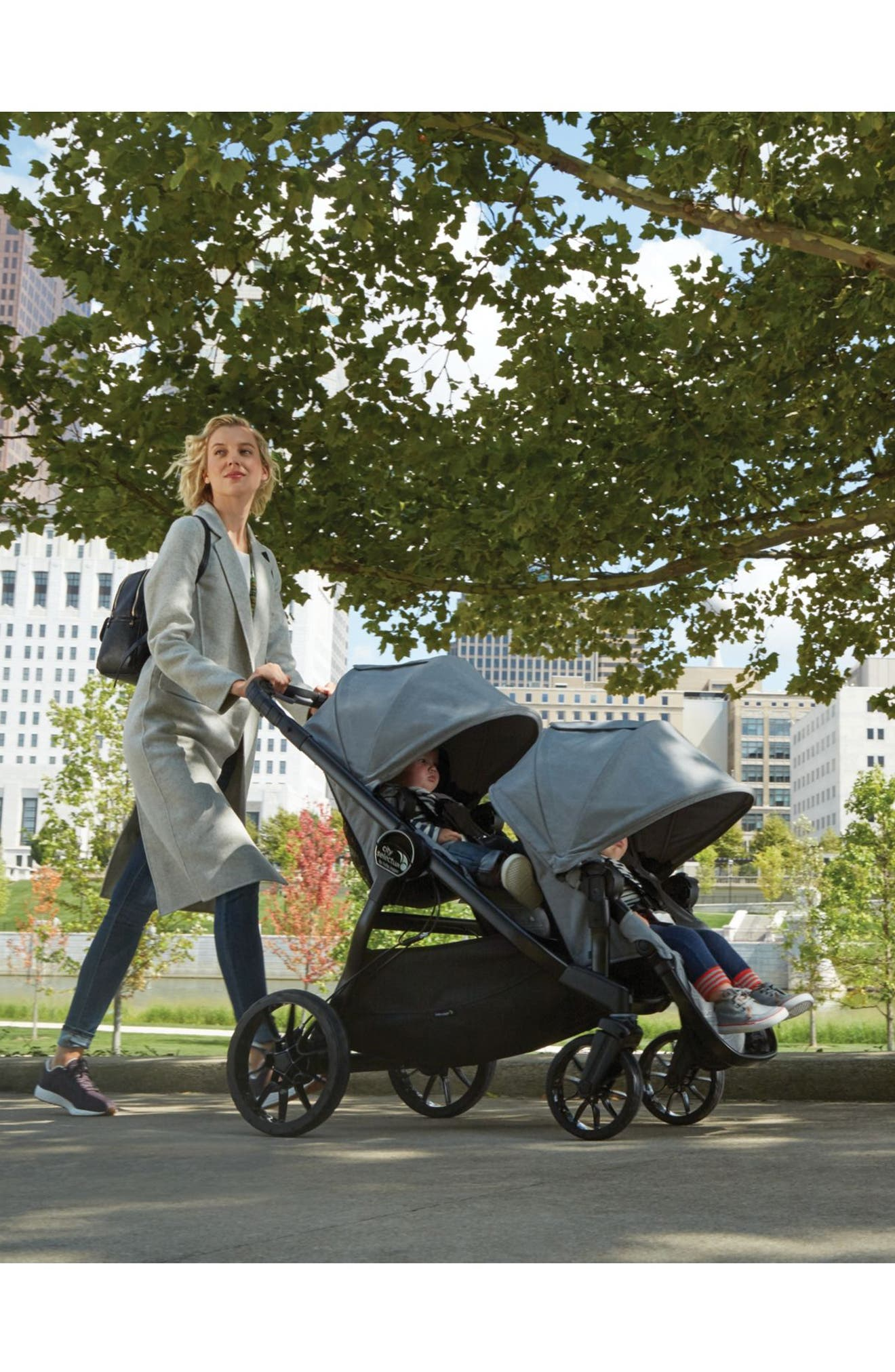 City Select<sup>®</sup> LUX Stroller with Second Seat,                             Alternate thumbnail 4, color,                             Slate