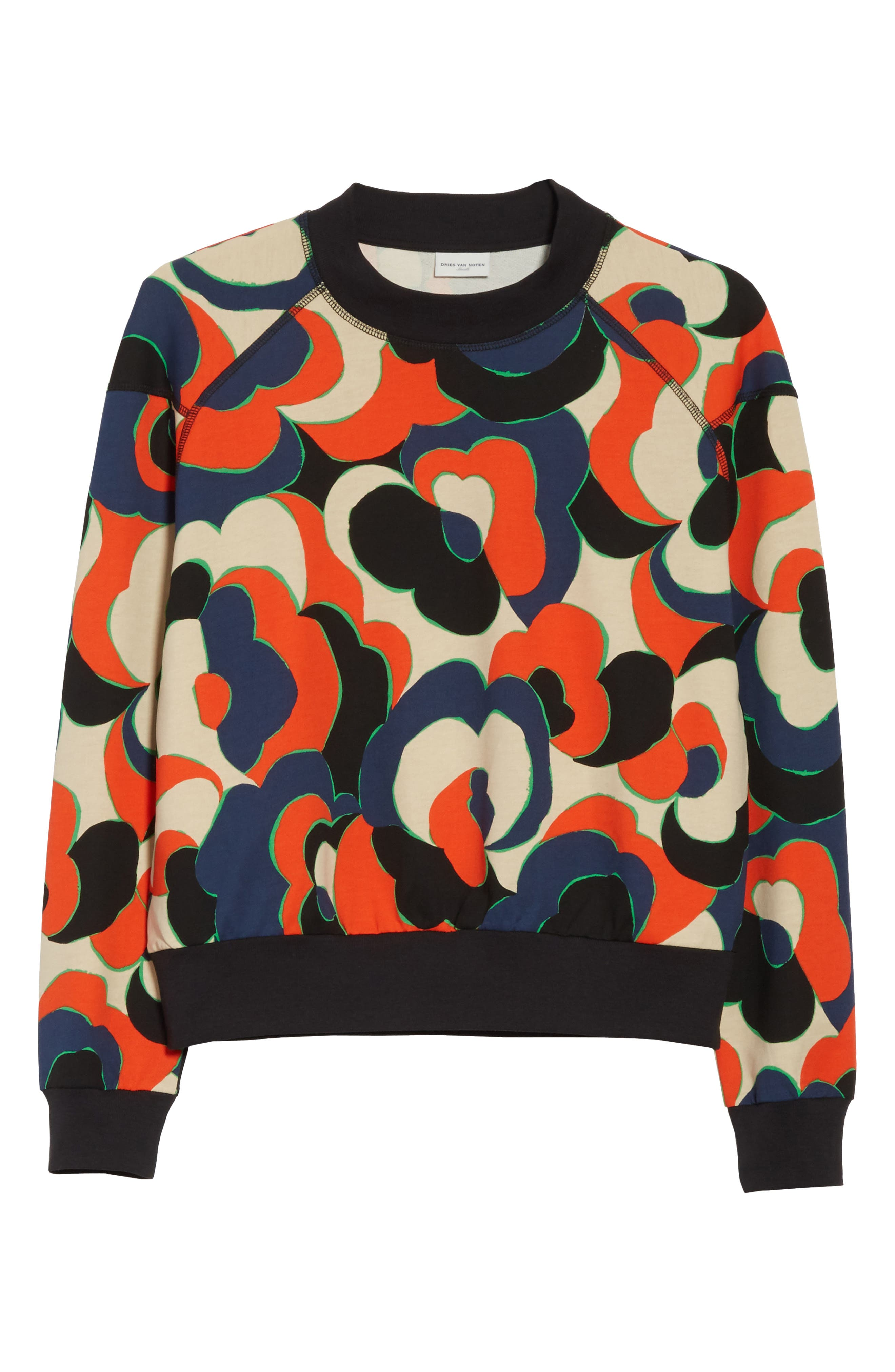 Alternate Image 6  - Dries Van Noten Hardmon Print Sweatshirt