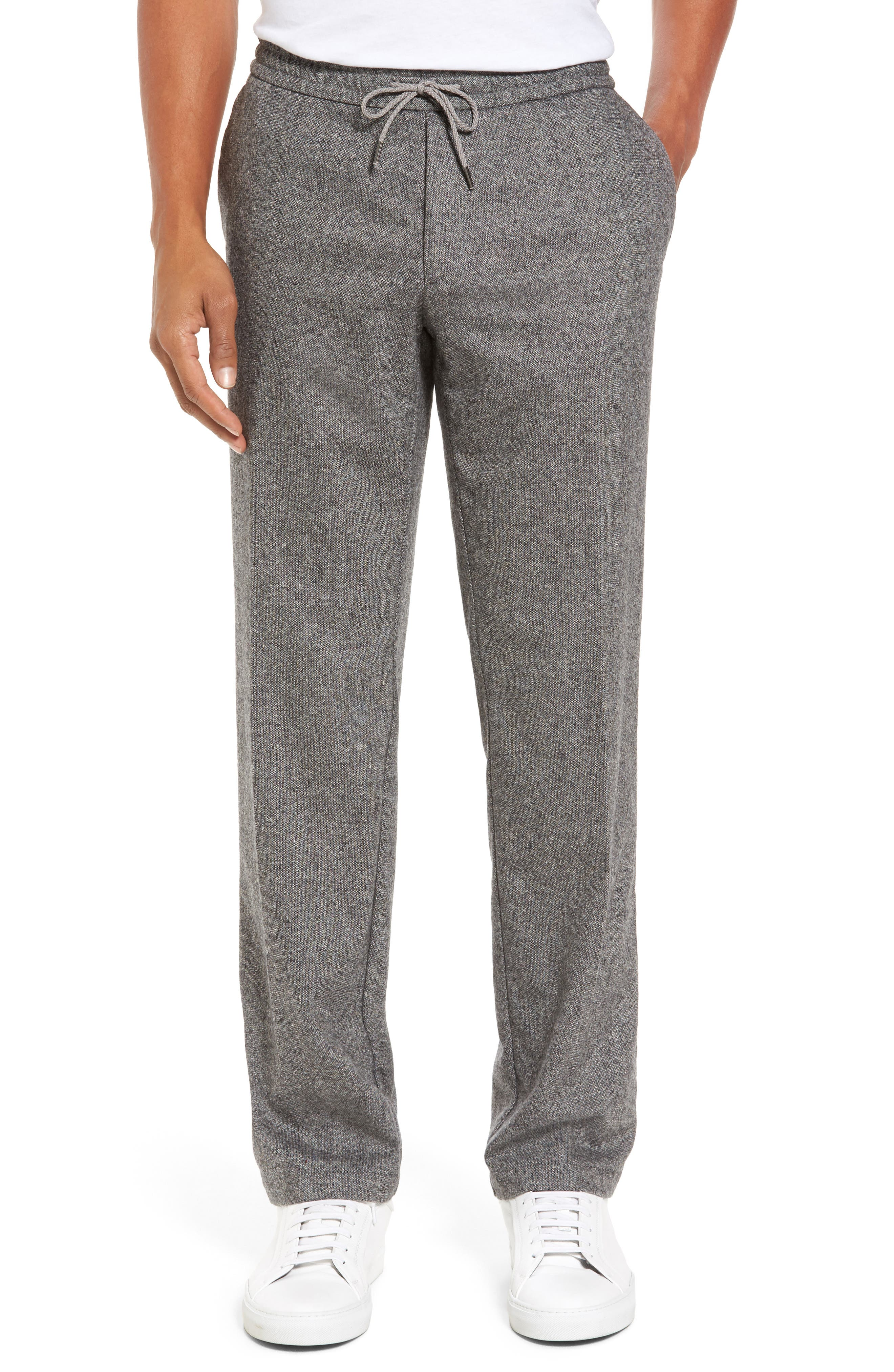 Alternate Image 1 Selected - BOSS Barne Drawstring Waist Trousers