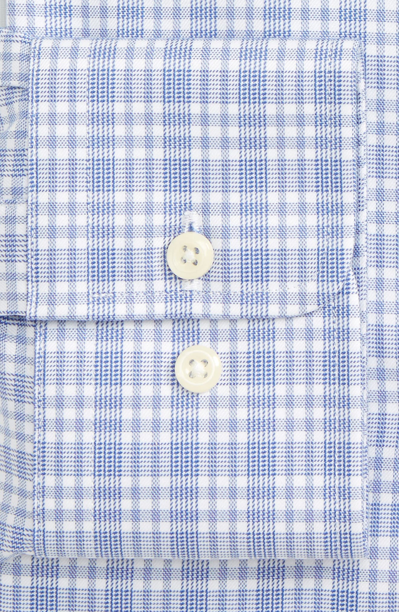 Alternate Image 2  - David Donahue Regular Fit Plaid Dress Shirt