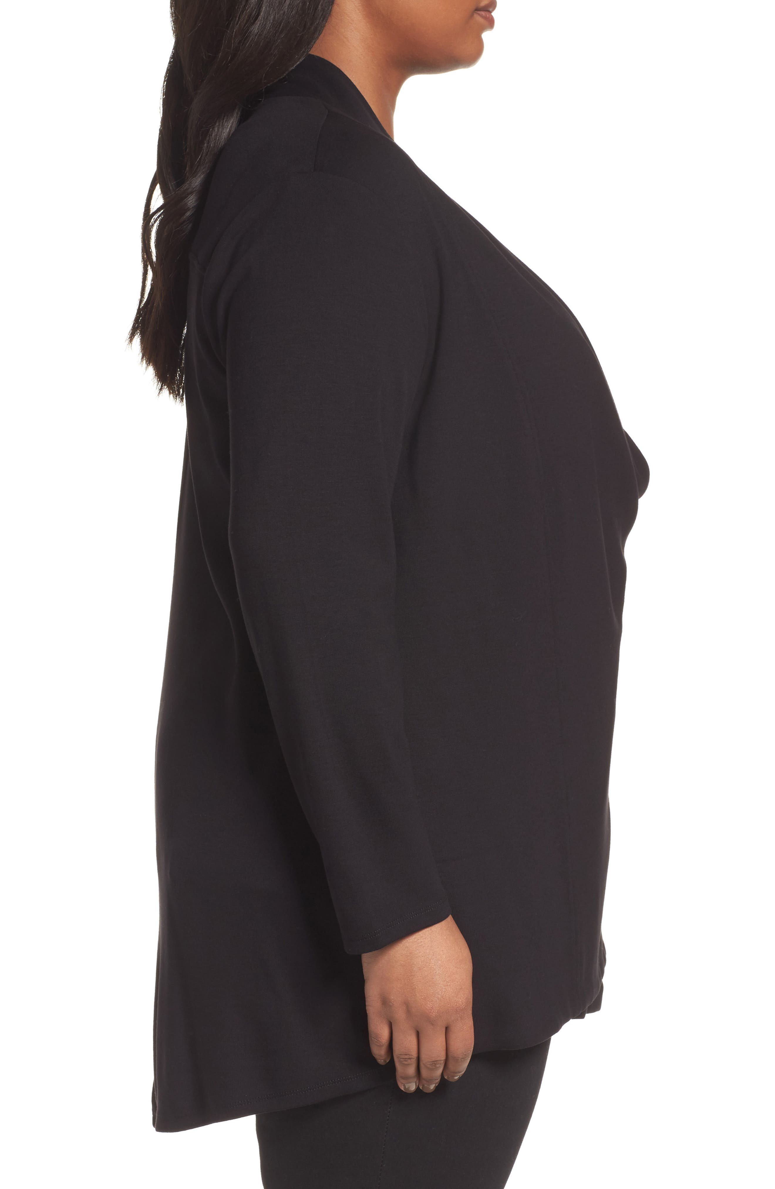 Alternate Image 3  - NIC+ZOE Studio Asymmetrical Zip Jacket (Plus Size)