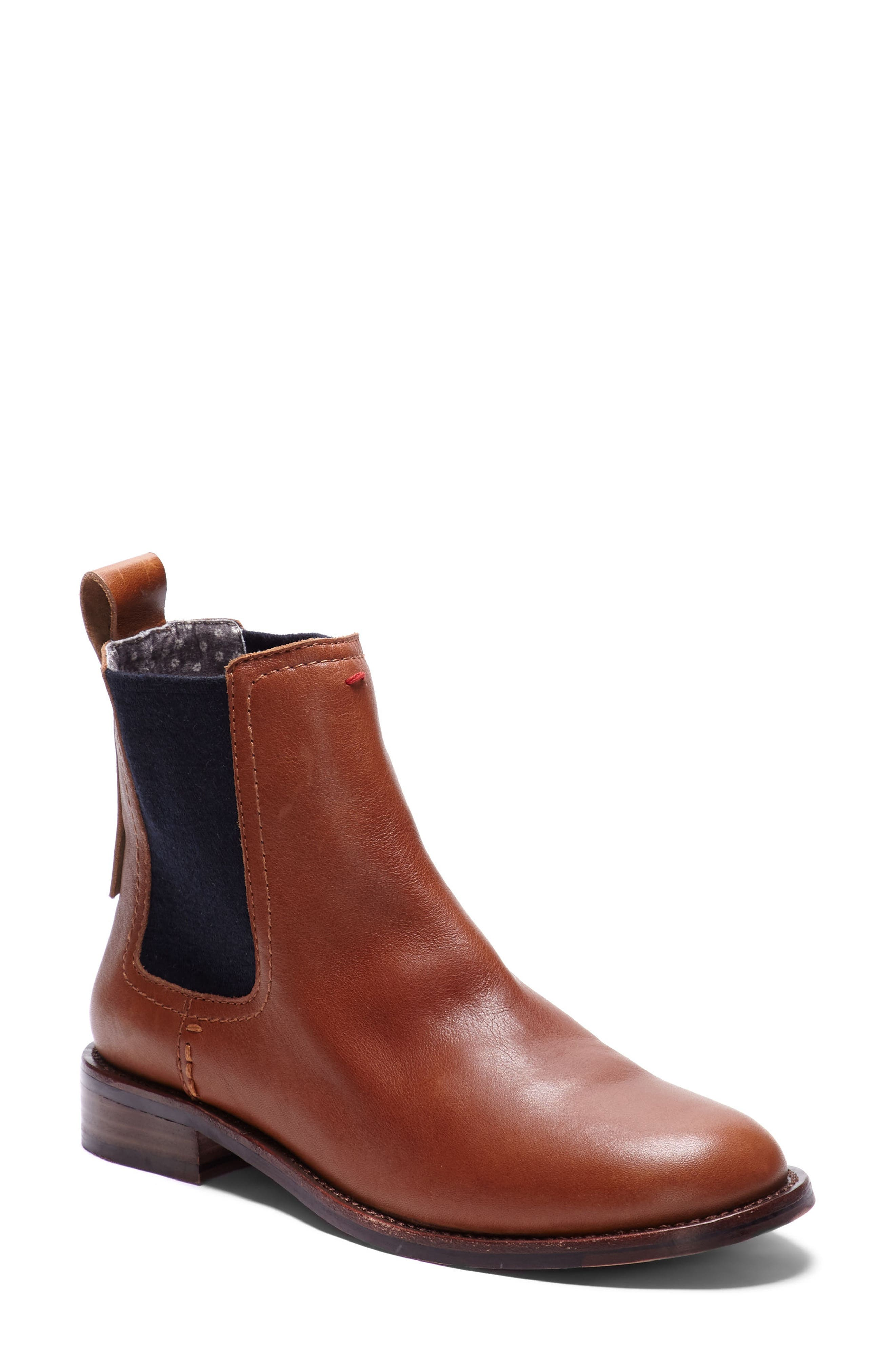 Zabi Chelsea Boot,                         Main,                         color, Yam Leather