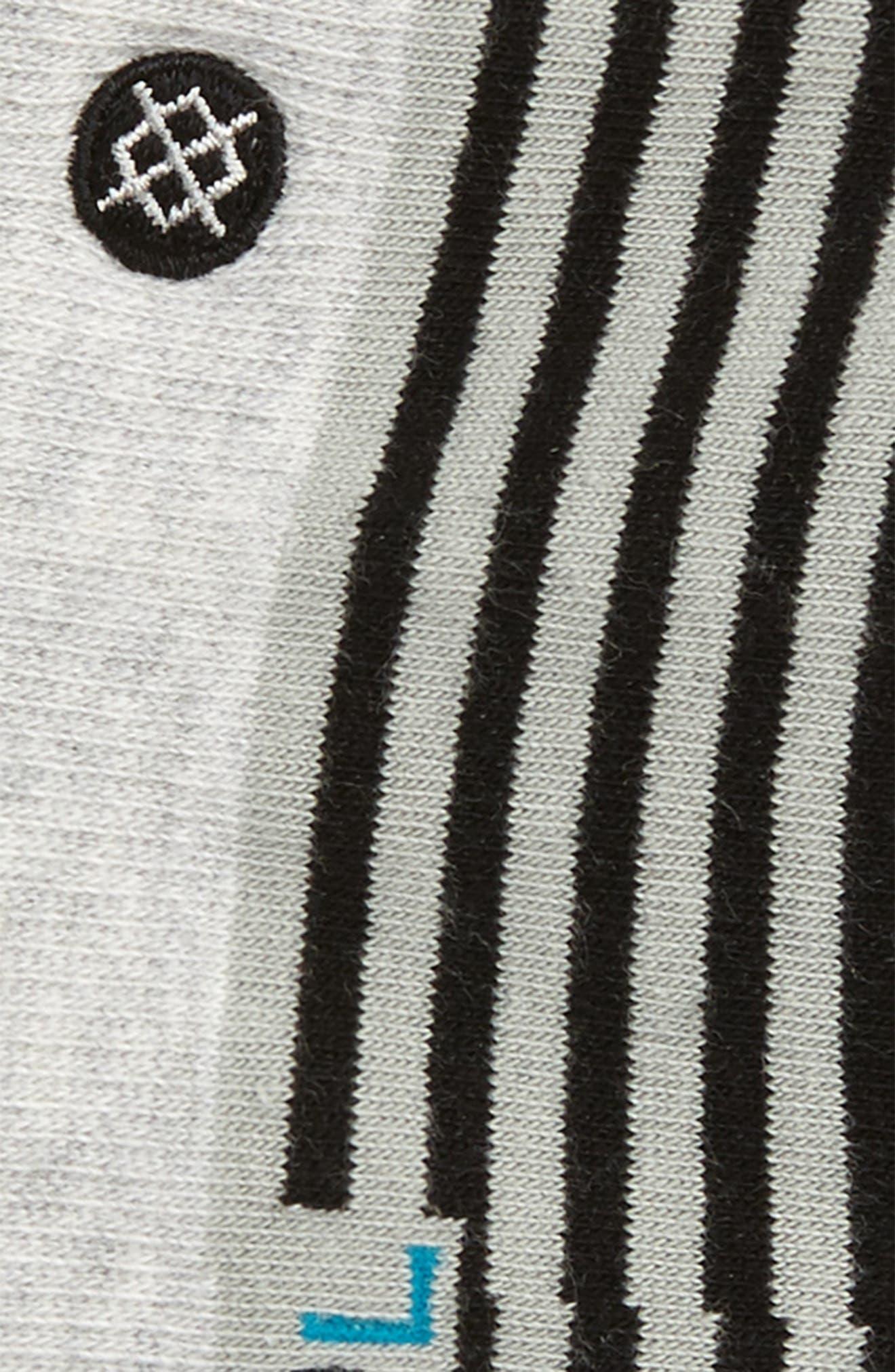 Alternate Image 2  - Stance Nagano Striped No-Show Socks