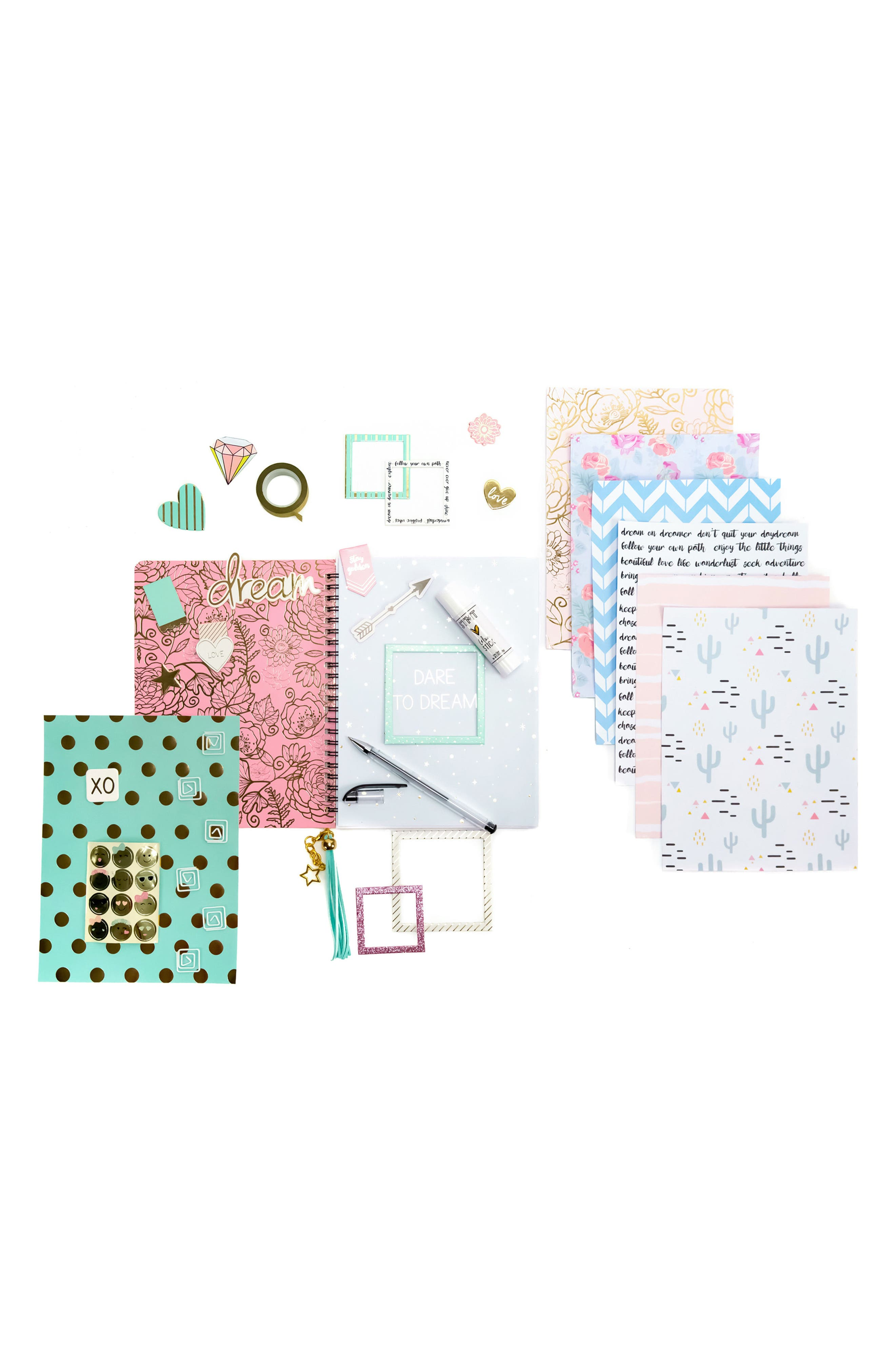 DIY Journaling Kit,                             Alternate thumbnail 2, color,                             Blue Multi