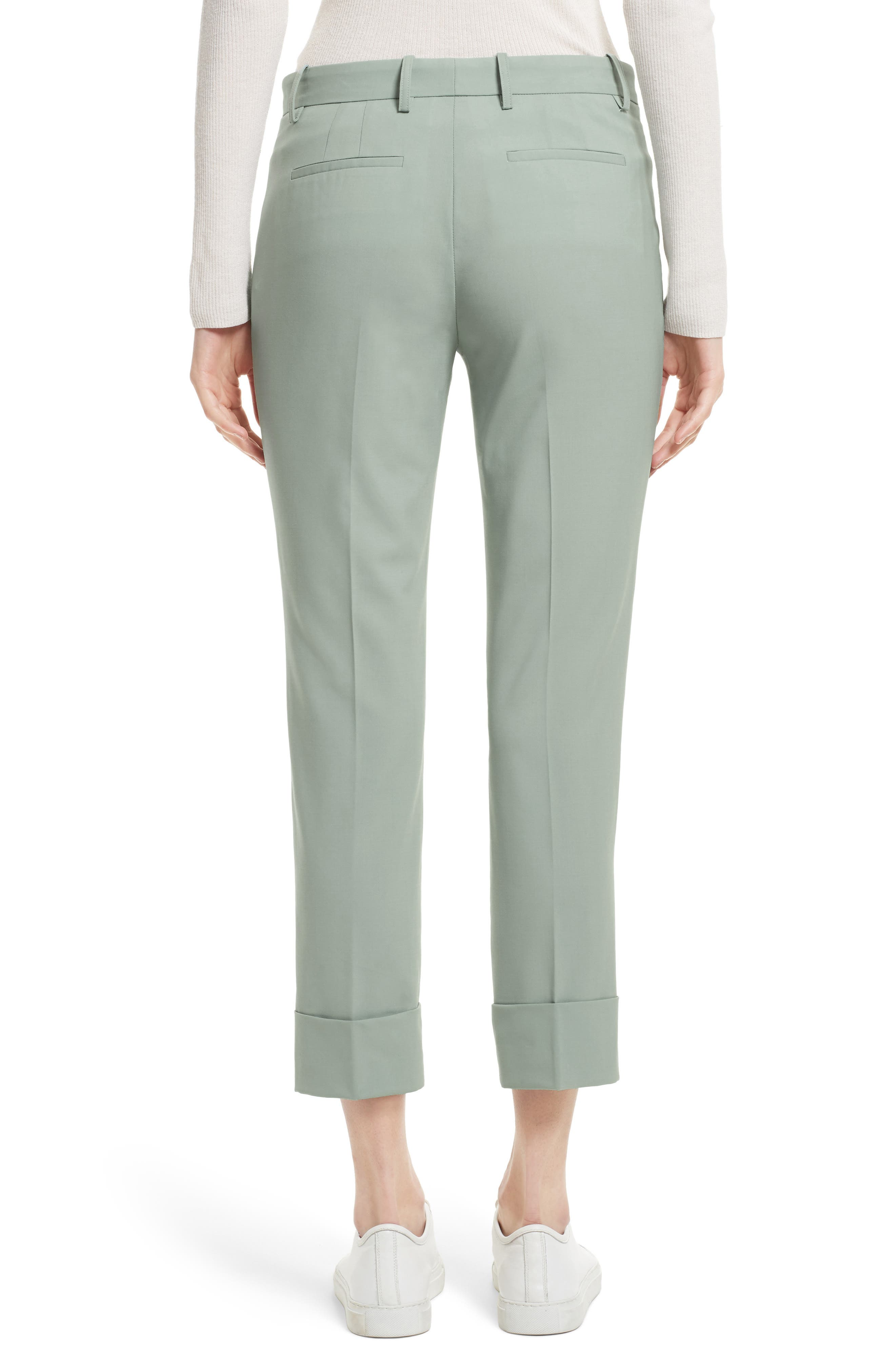 Alternate Image 2  - Theory Stretch Wool Crop Pants