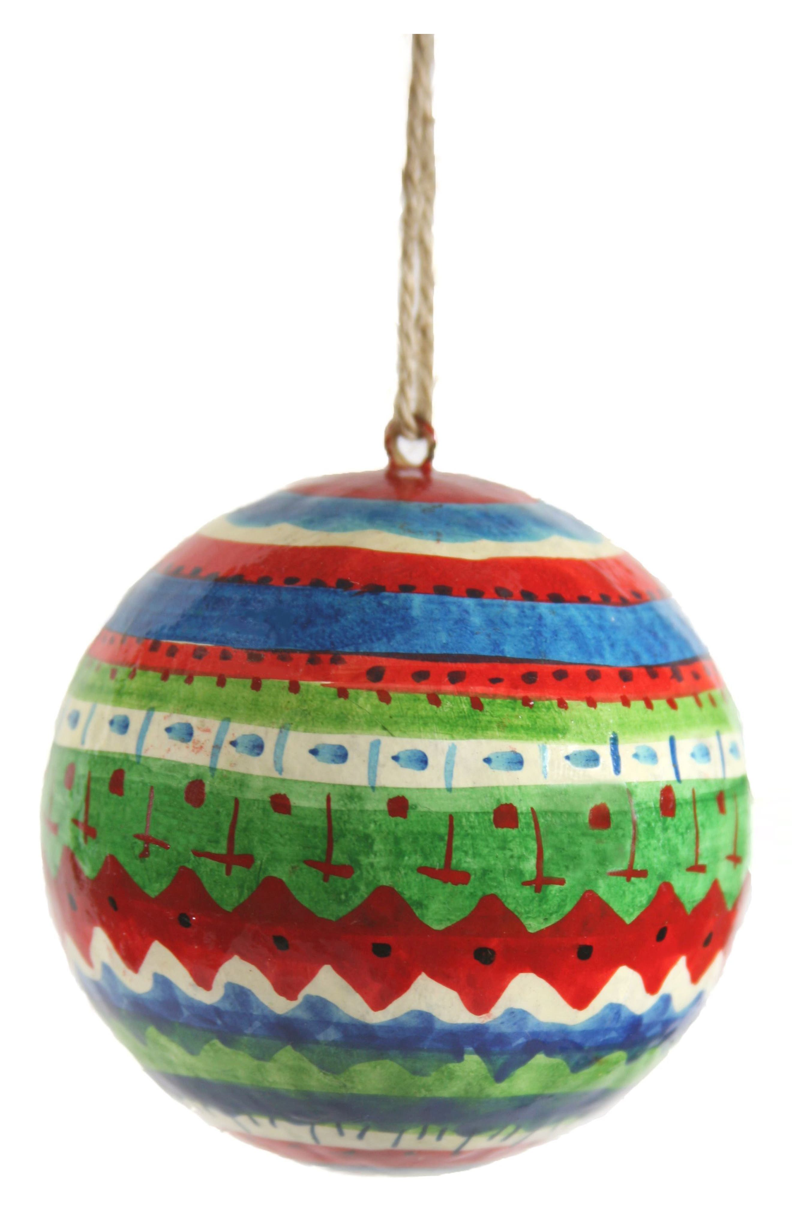 Cody Foster Patterned Ball Ornament