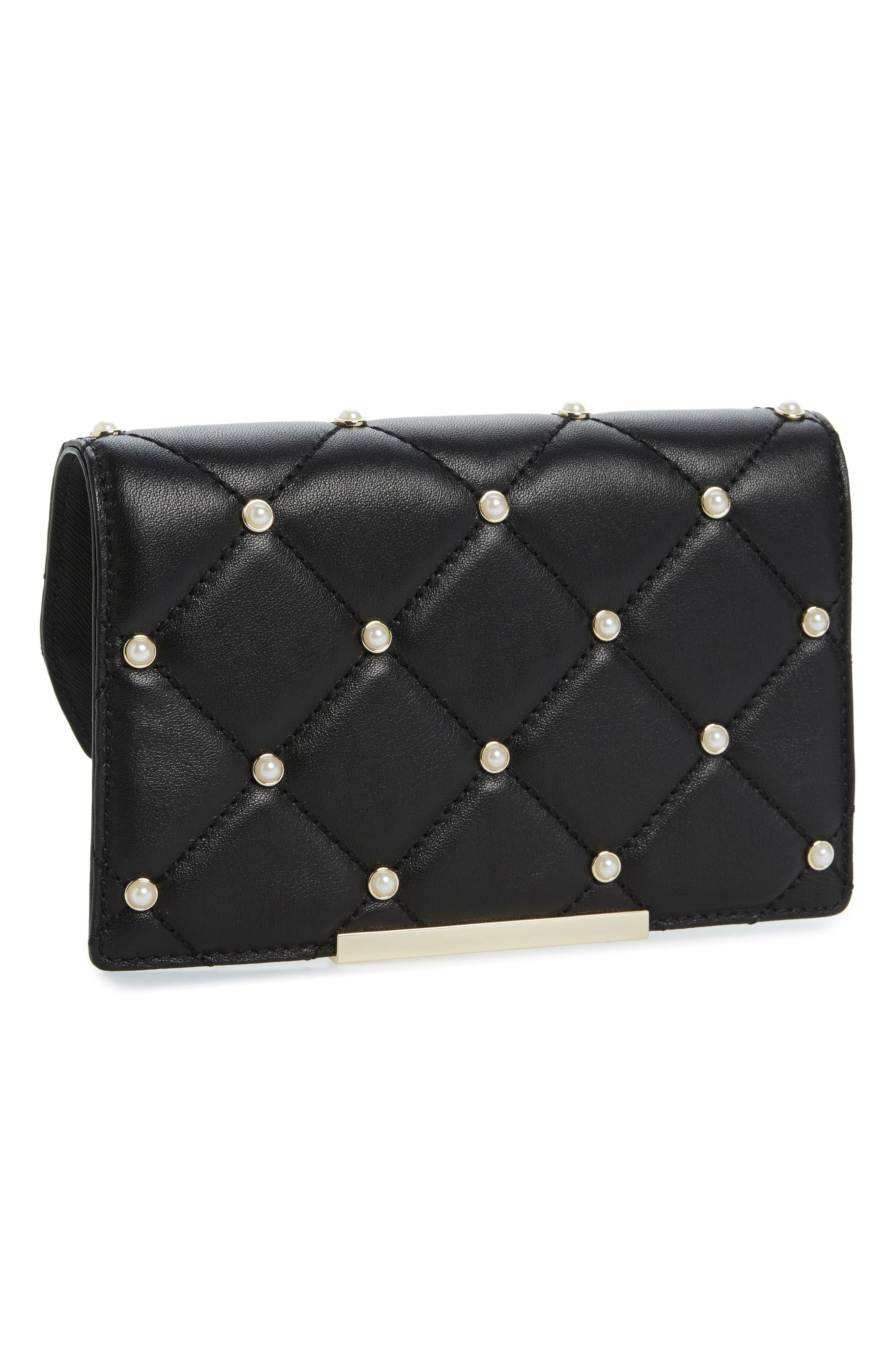 Alternate Image 1 Selected - kate spade new york make it mine imitation pearl snap-on accent flap