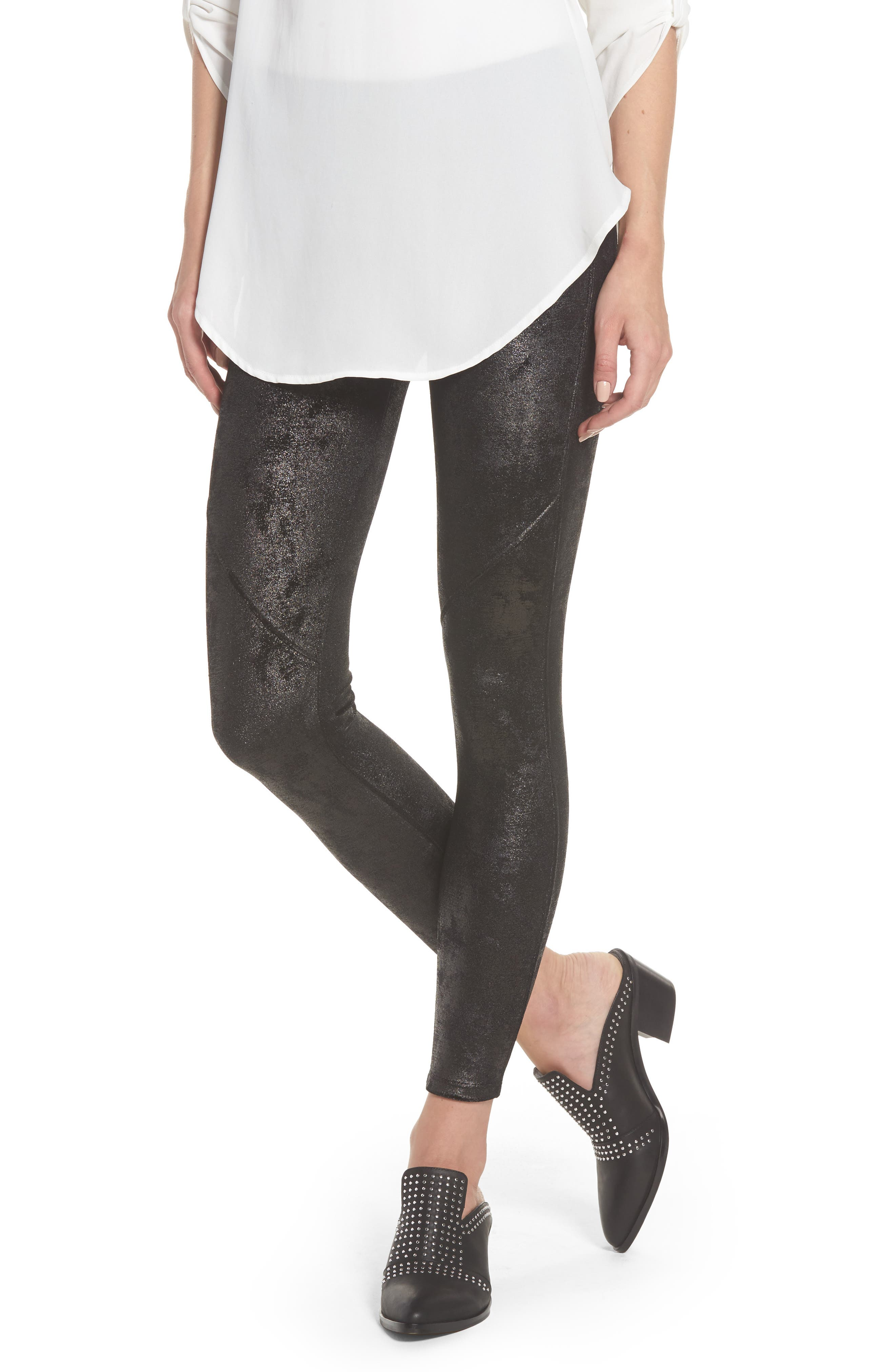 David Lerner Bergen High Waist Seamed Leggings