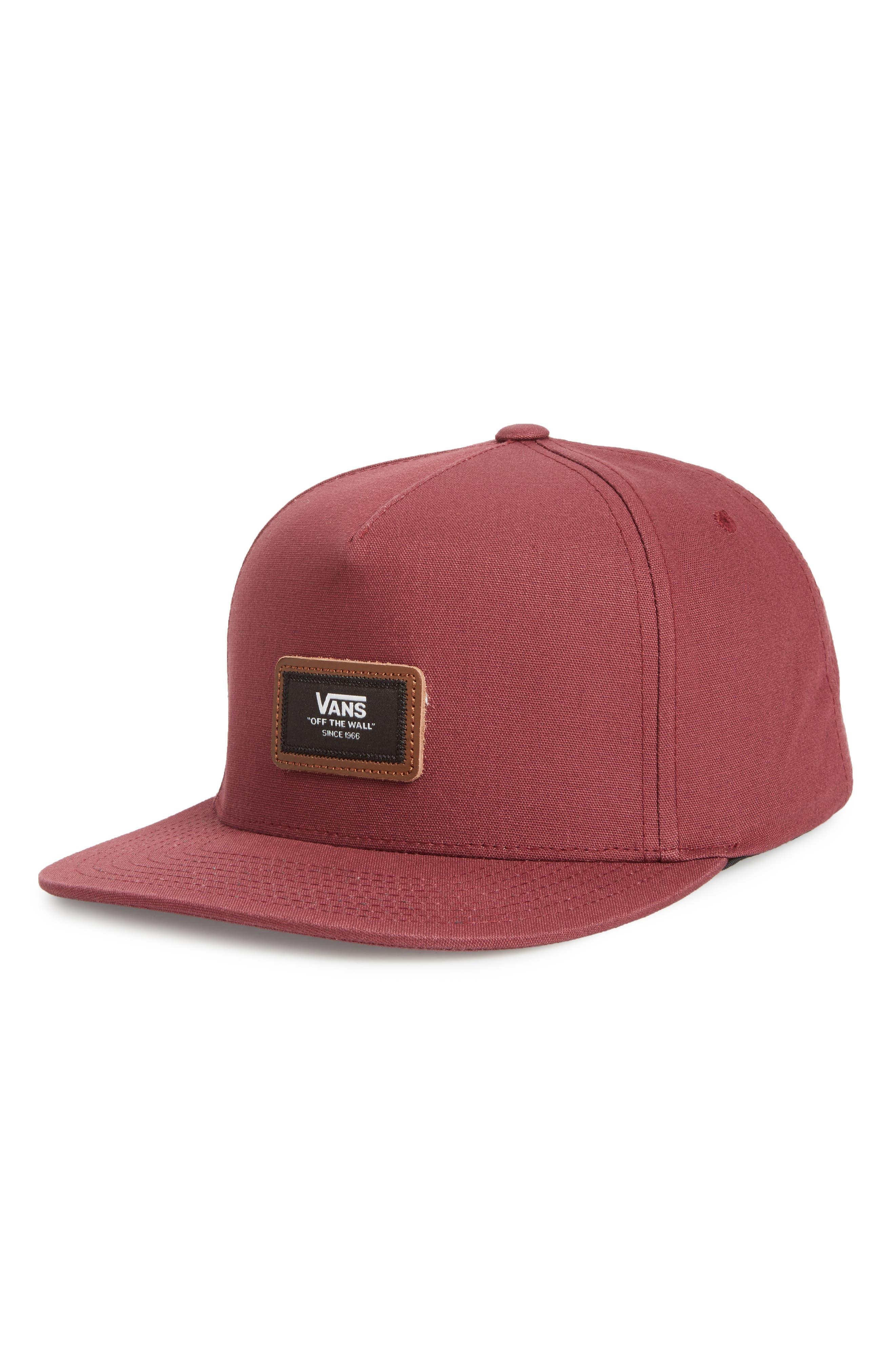 Fiske Snapback Cap,                         Main,                         color, Port Royale