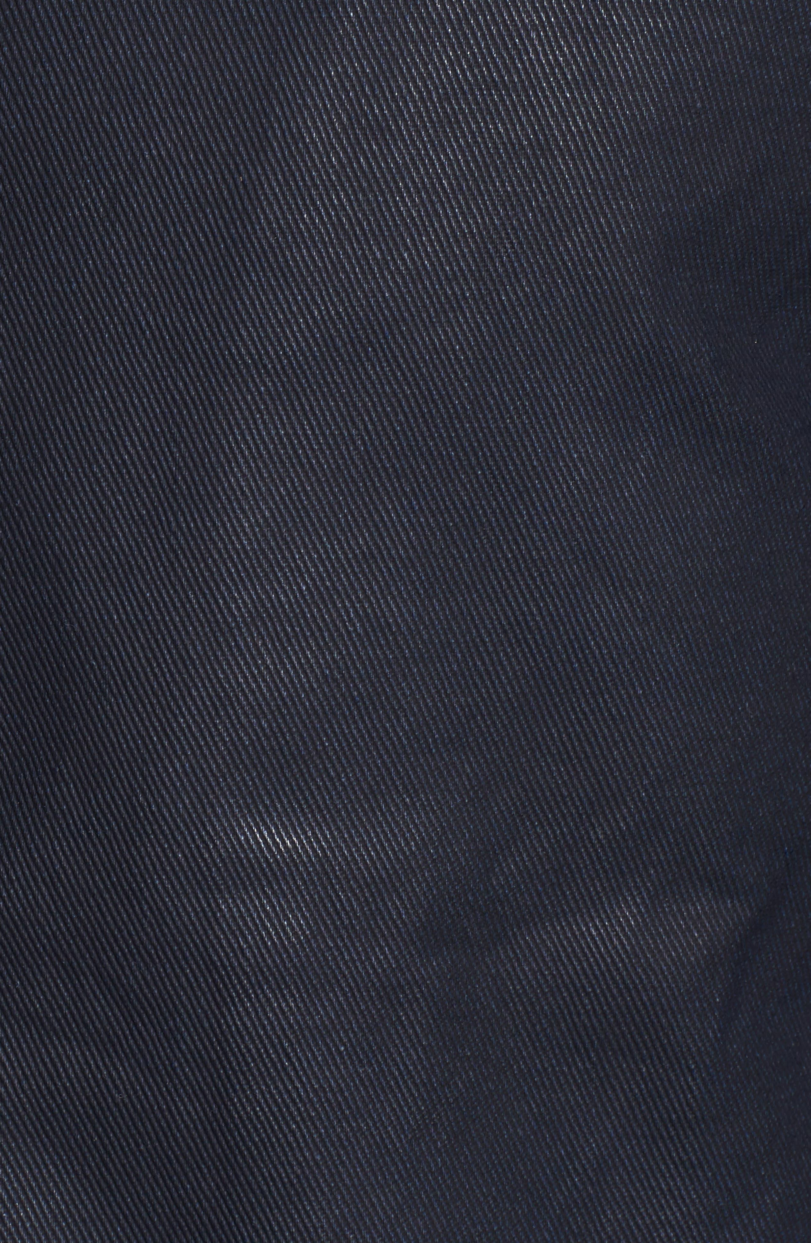 Alternate Image 5  - Tunellus Coated Zip Front Jacket