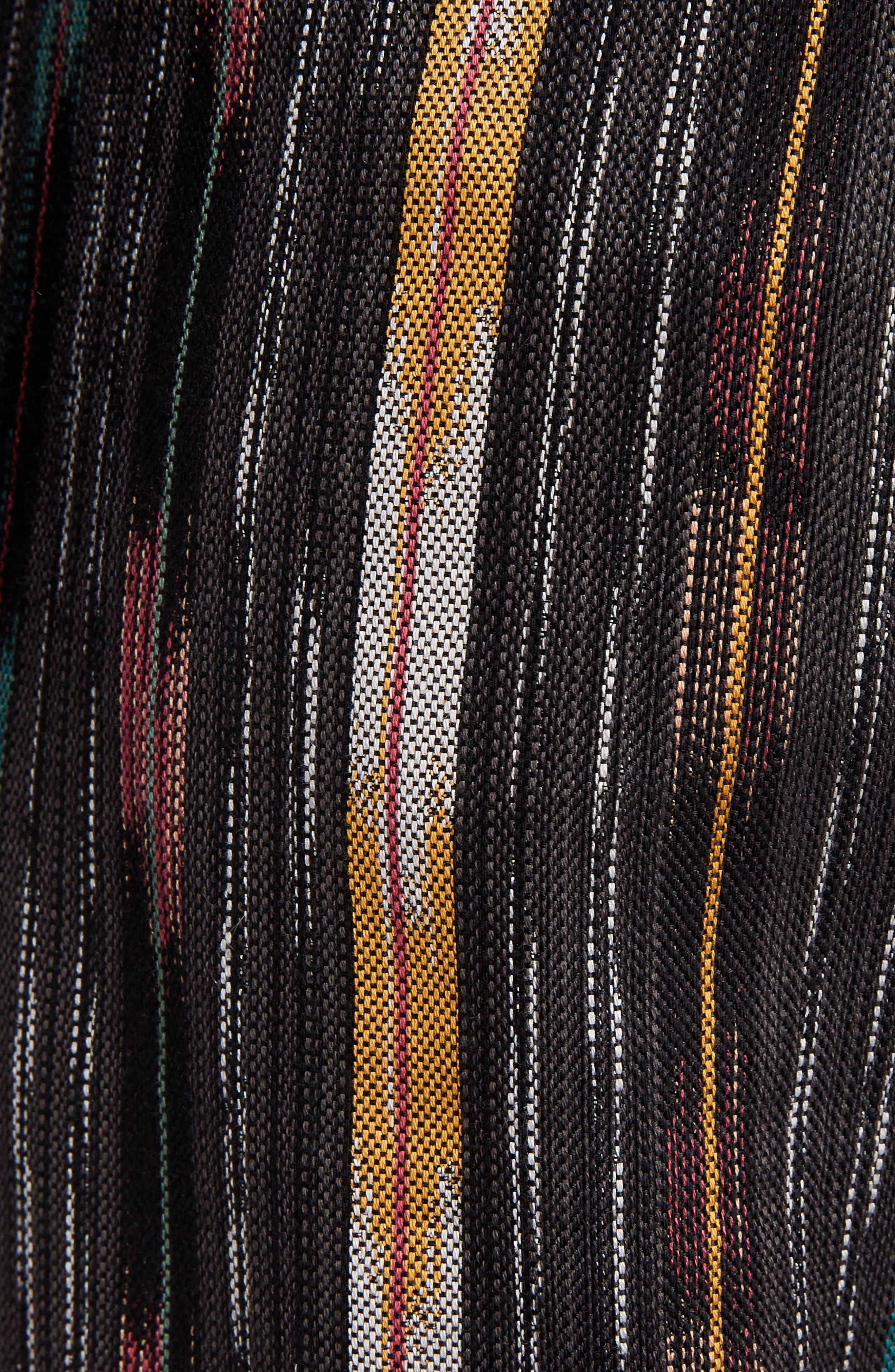 Ikat Cotton & Silk Joggers,                             Alternate thumbnail 5, color,                             Multi Color