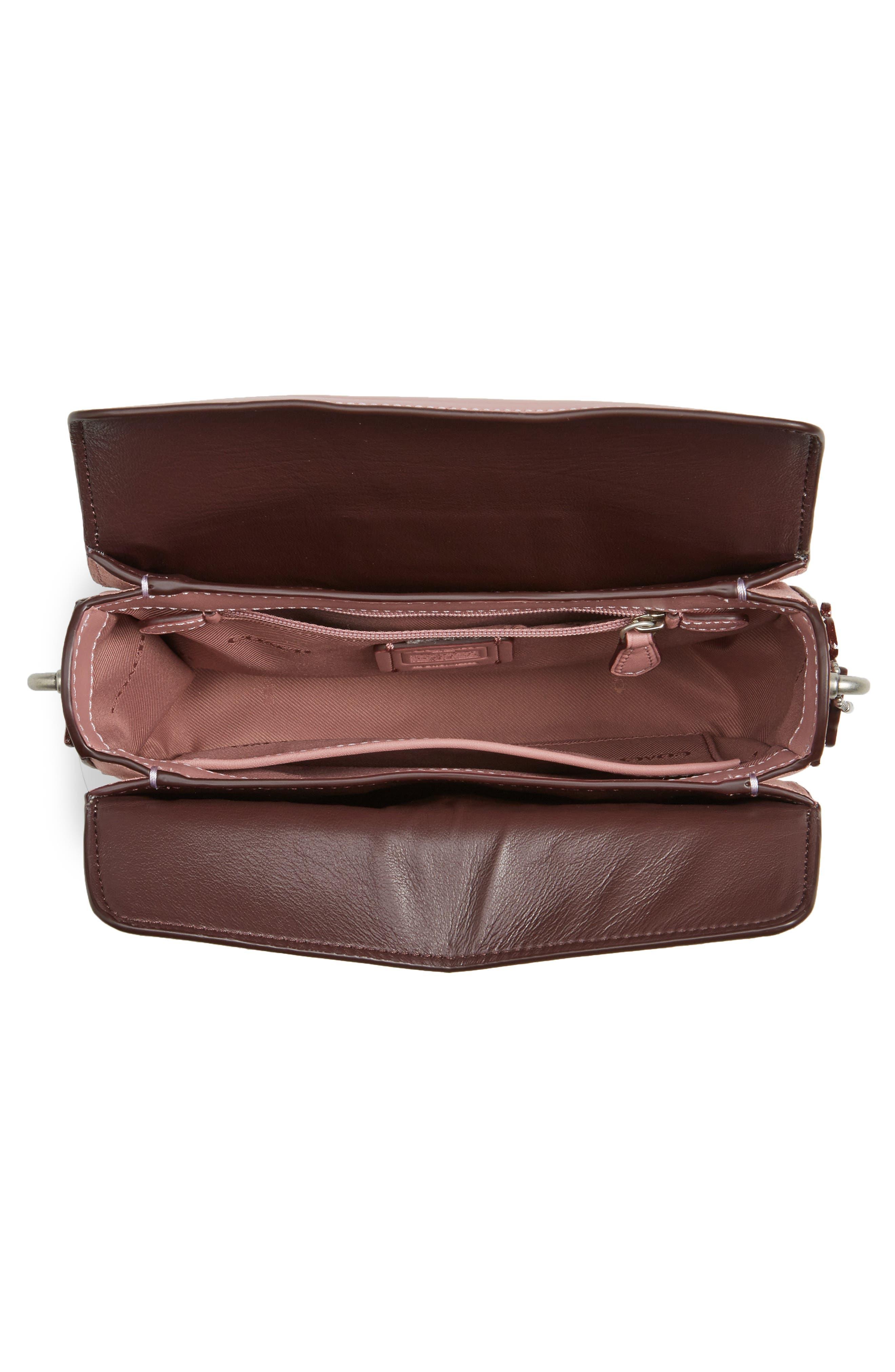 Alternate Image 4  - COACH Page Tea Rose Calfskin Leather Top Handle Satchel