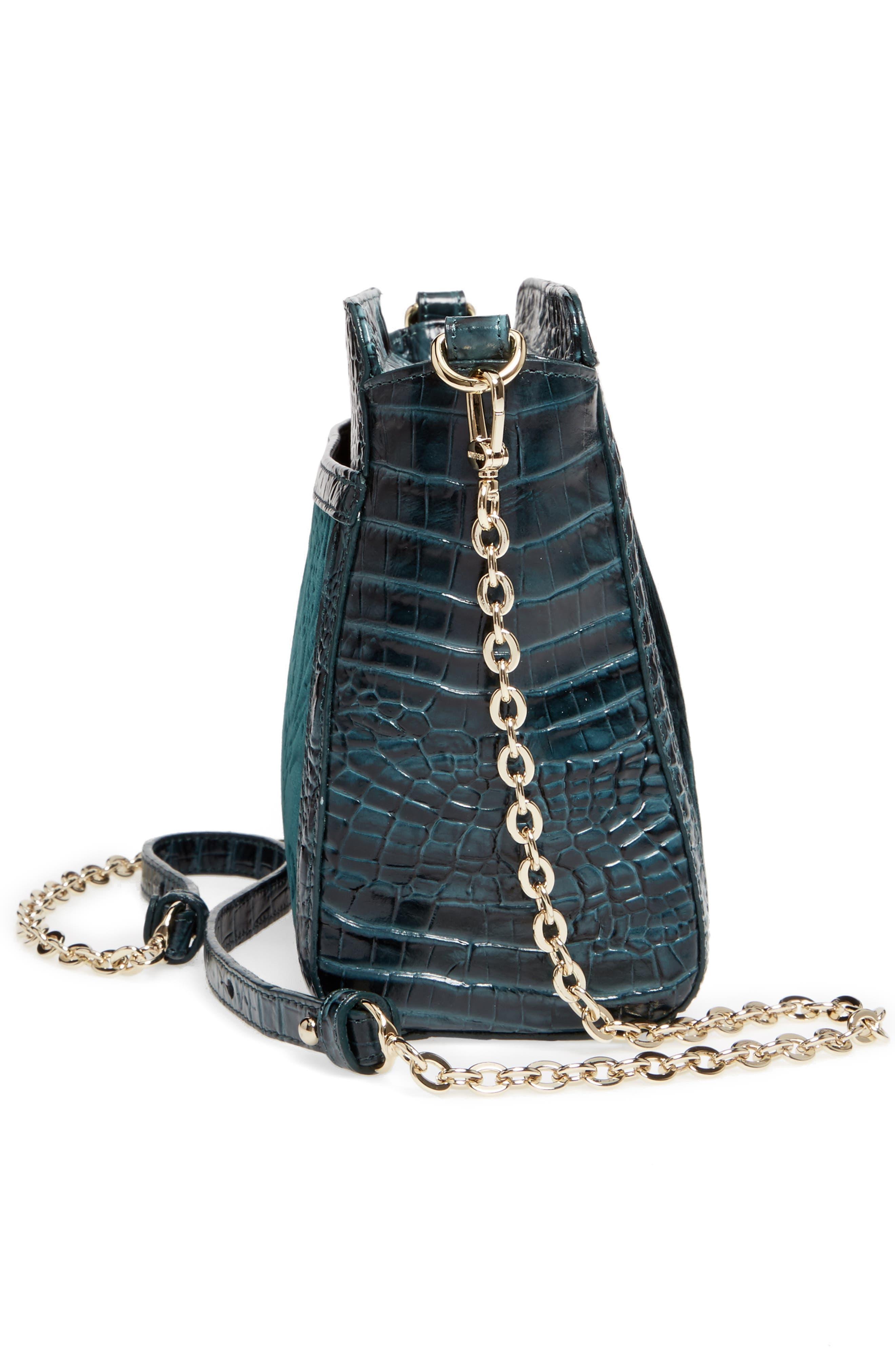 Alternate Image 4  - Brahmin Ivy Cellini Carrie Embossed Velvet Crossbody Bag