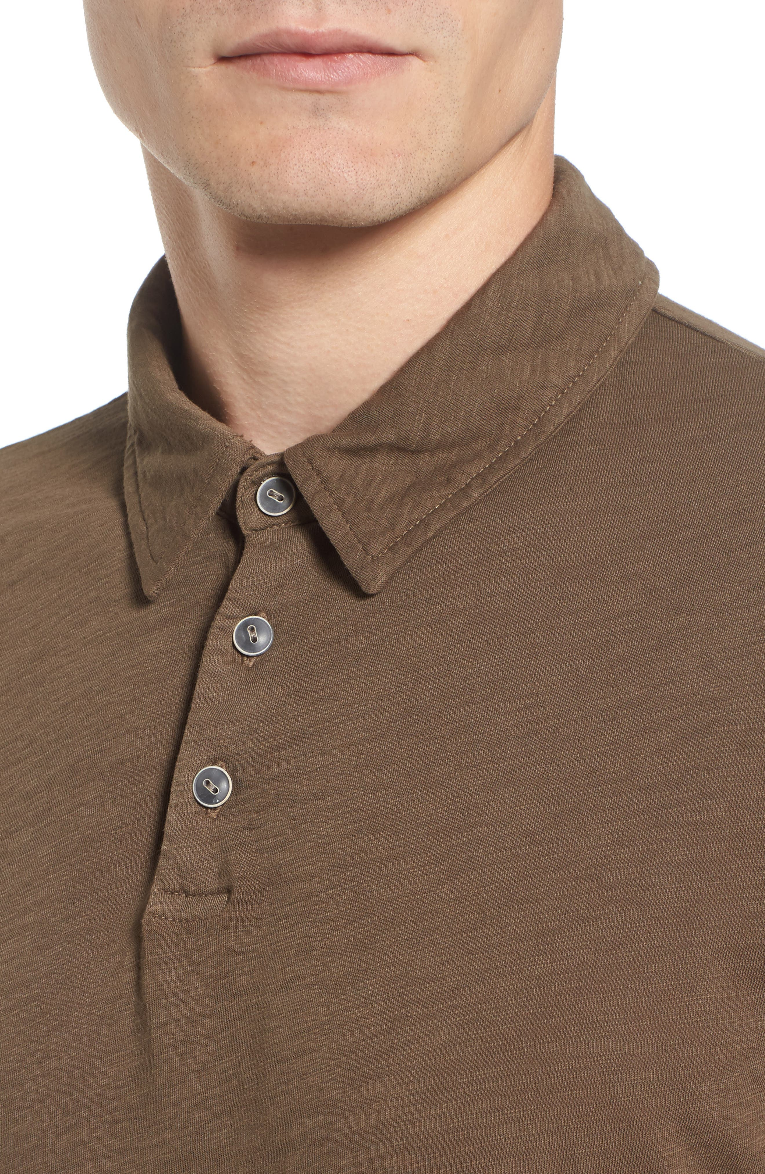 Alternate Image 4  - Velvet by Graham & Spencer 'Randall' Slub Knit Polo