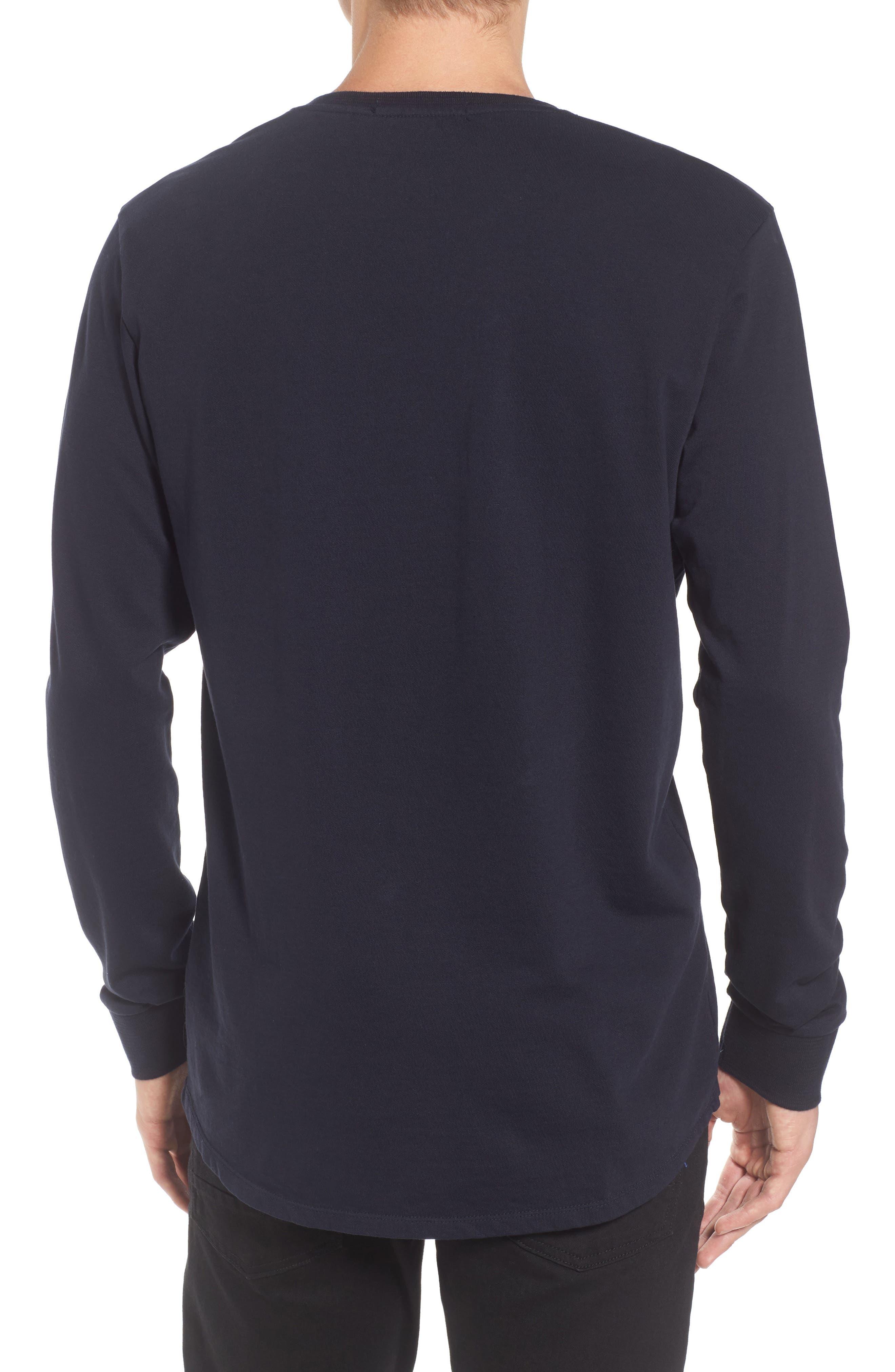 Alternate Image 2  - Scotch & Soda Grandad Henley T-Shirt