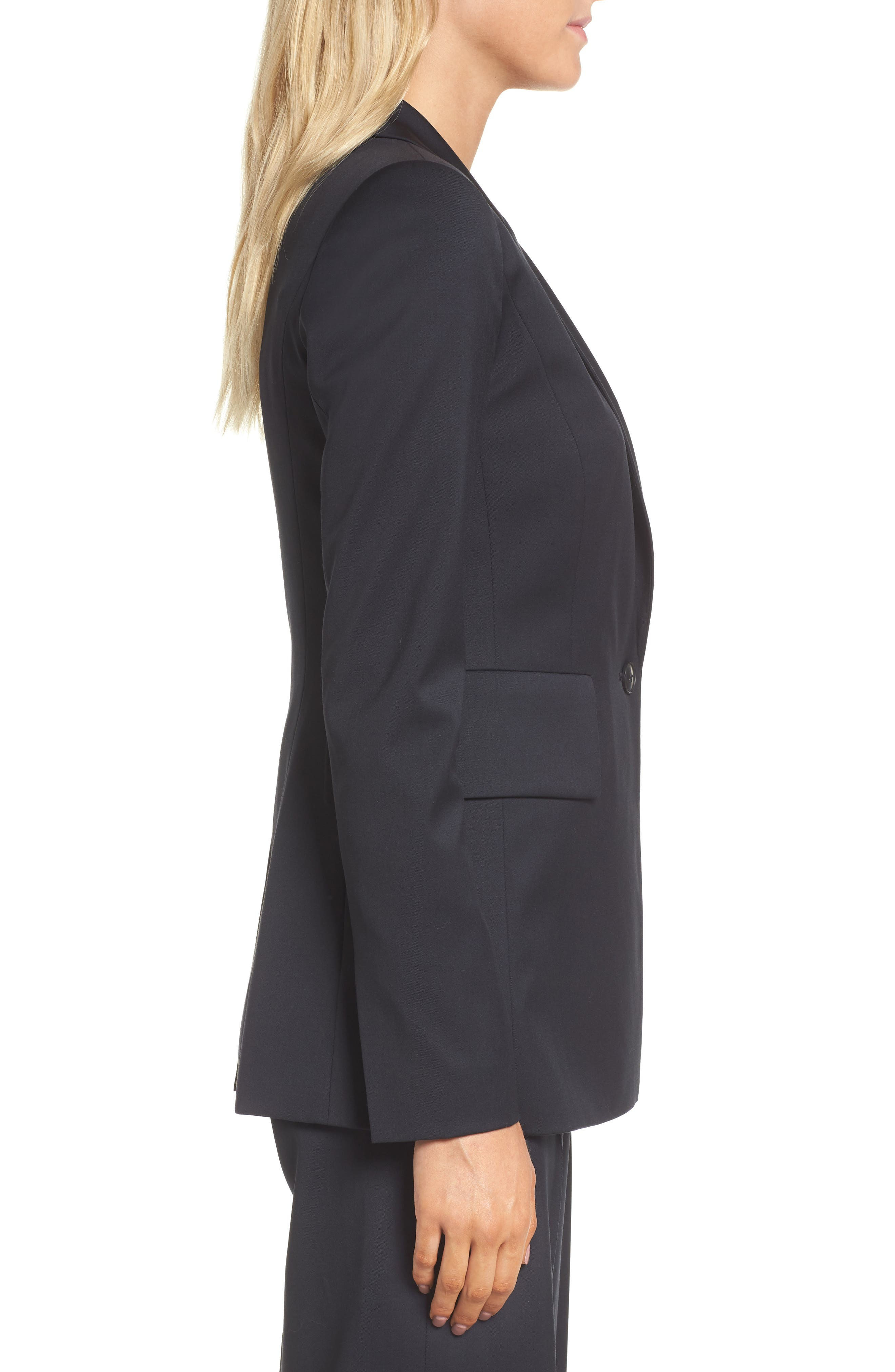 Alternate Image 3  - Lewit Square Shoulder Suit Jacket