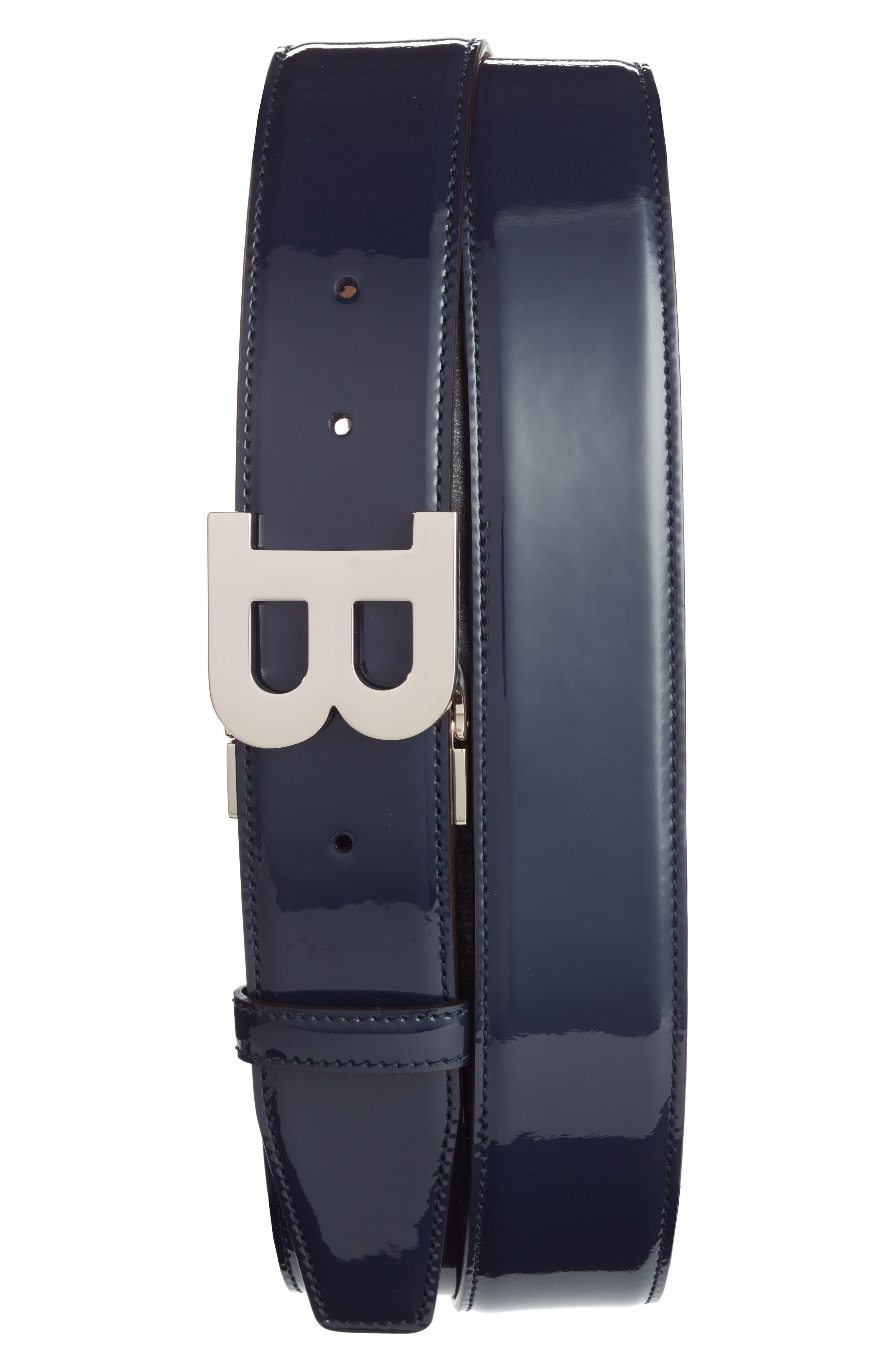 Main Image - Bally B Buckle Patent Leather Belt