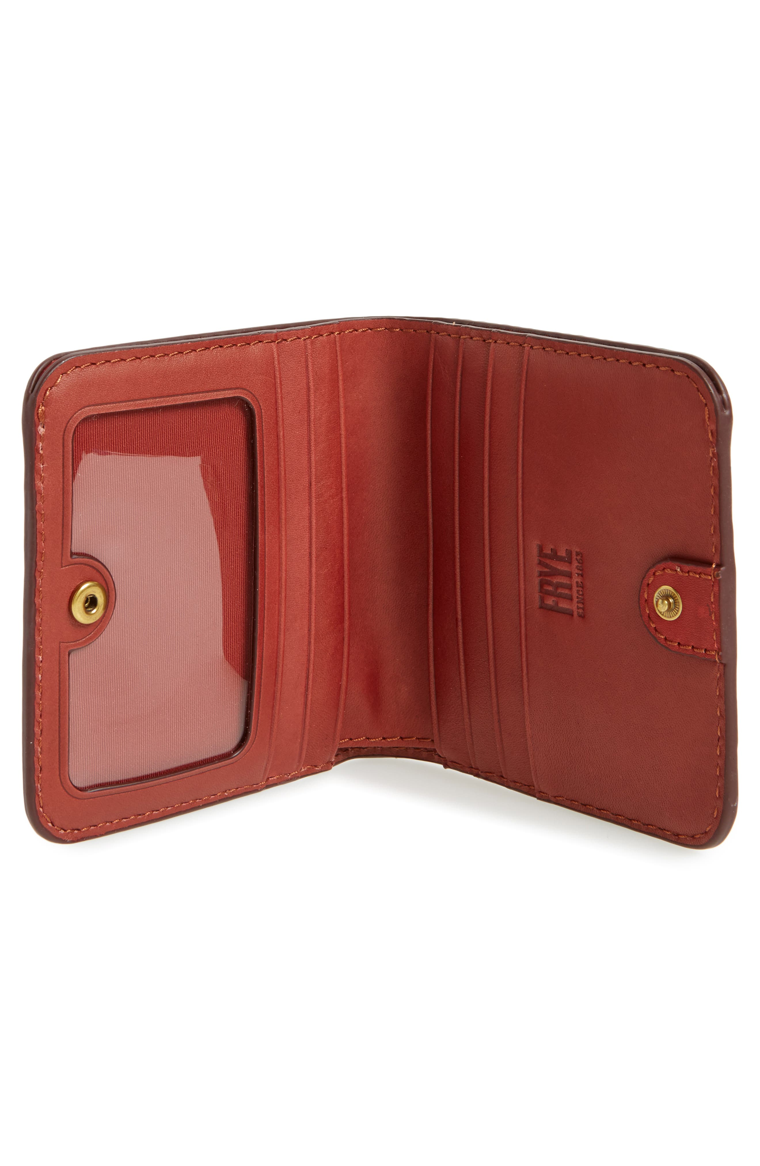 Alternate Image 2  - Frye Small Campus Rivet Leather Wallet