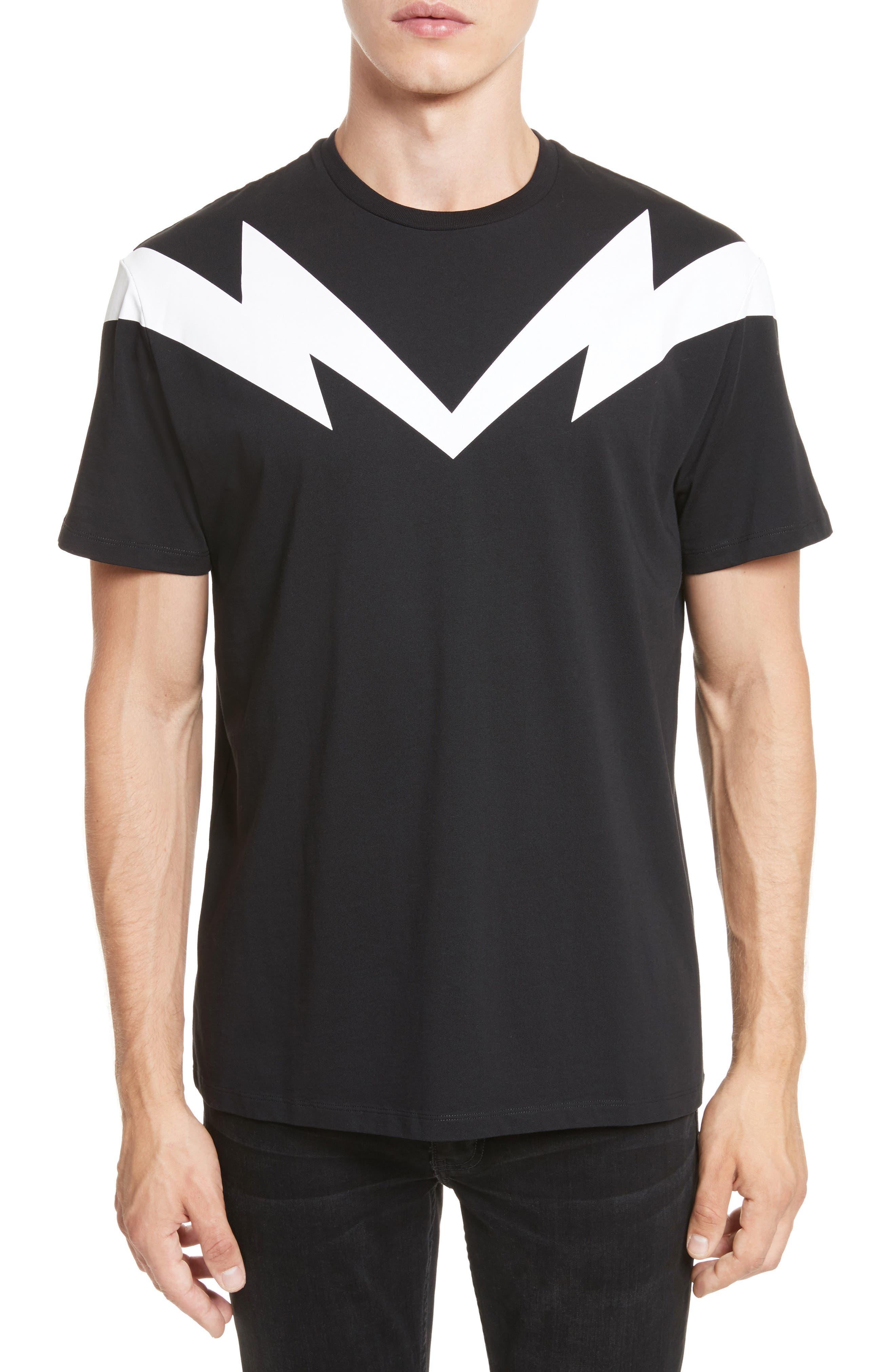 Neil Barrett Bolt to Bolt Graphic T-Shirt